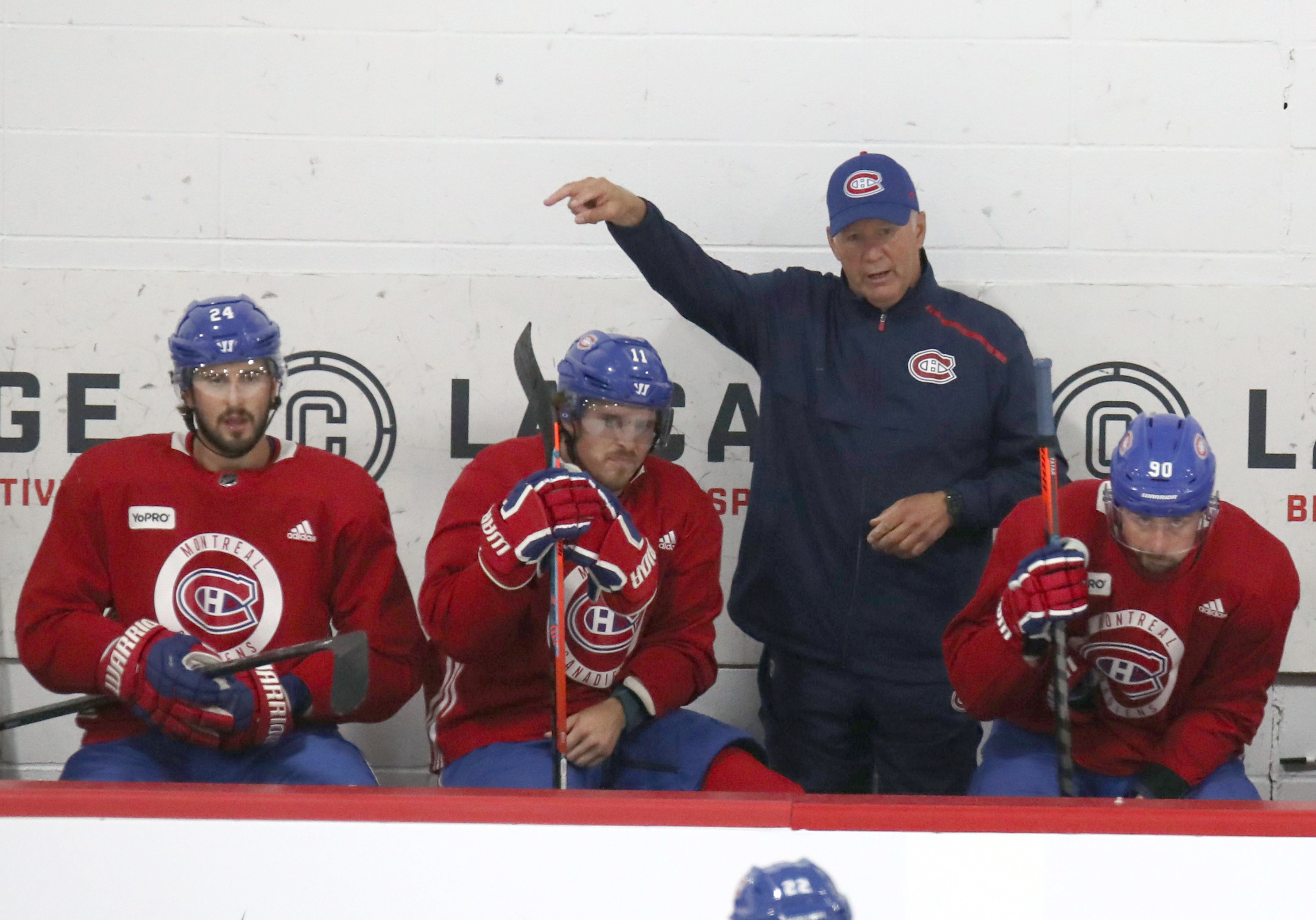 NHL: Montreal Canadiens-Workouts