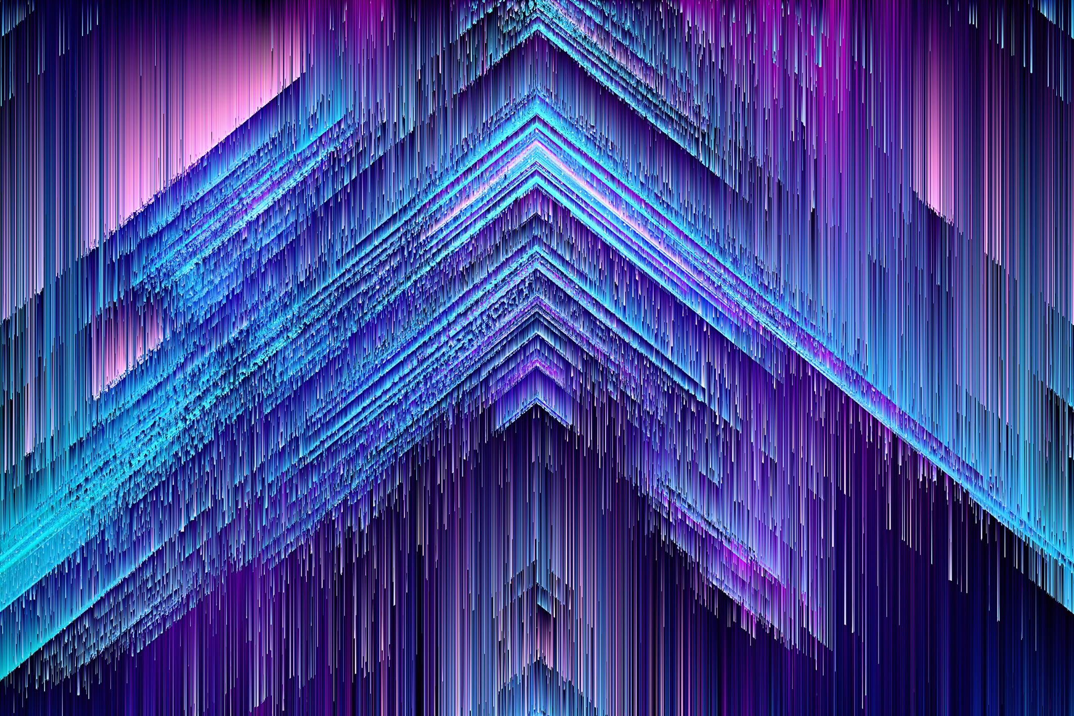 A melting pyramid.