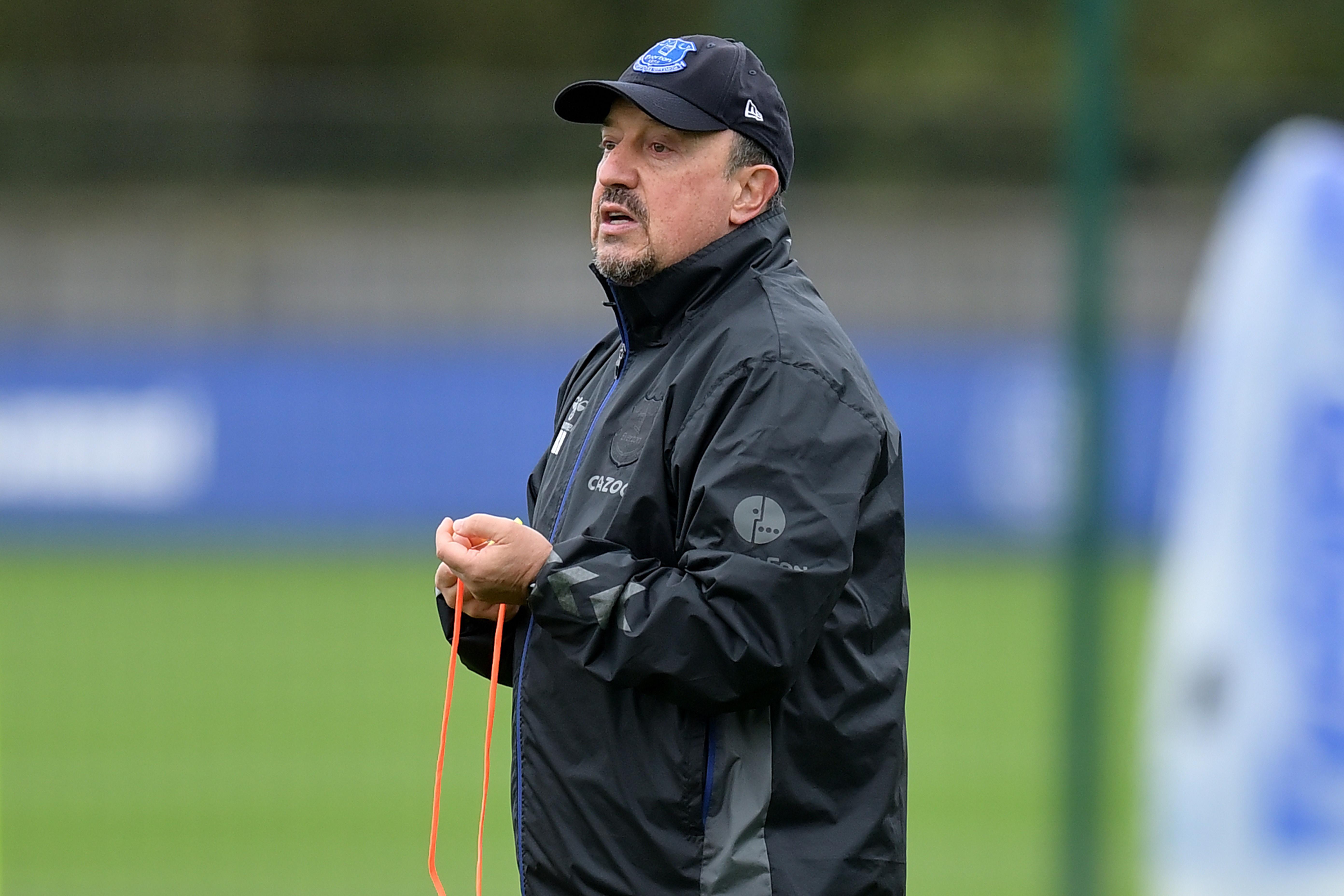 Everton Training Session