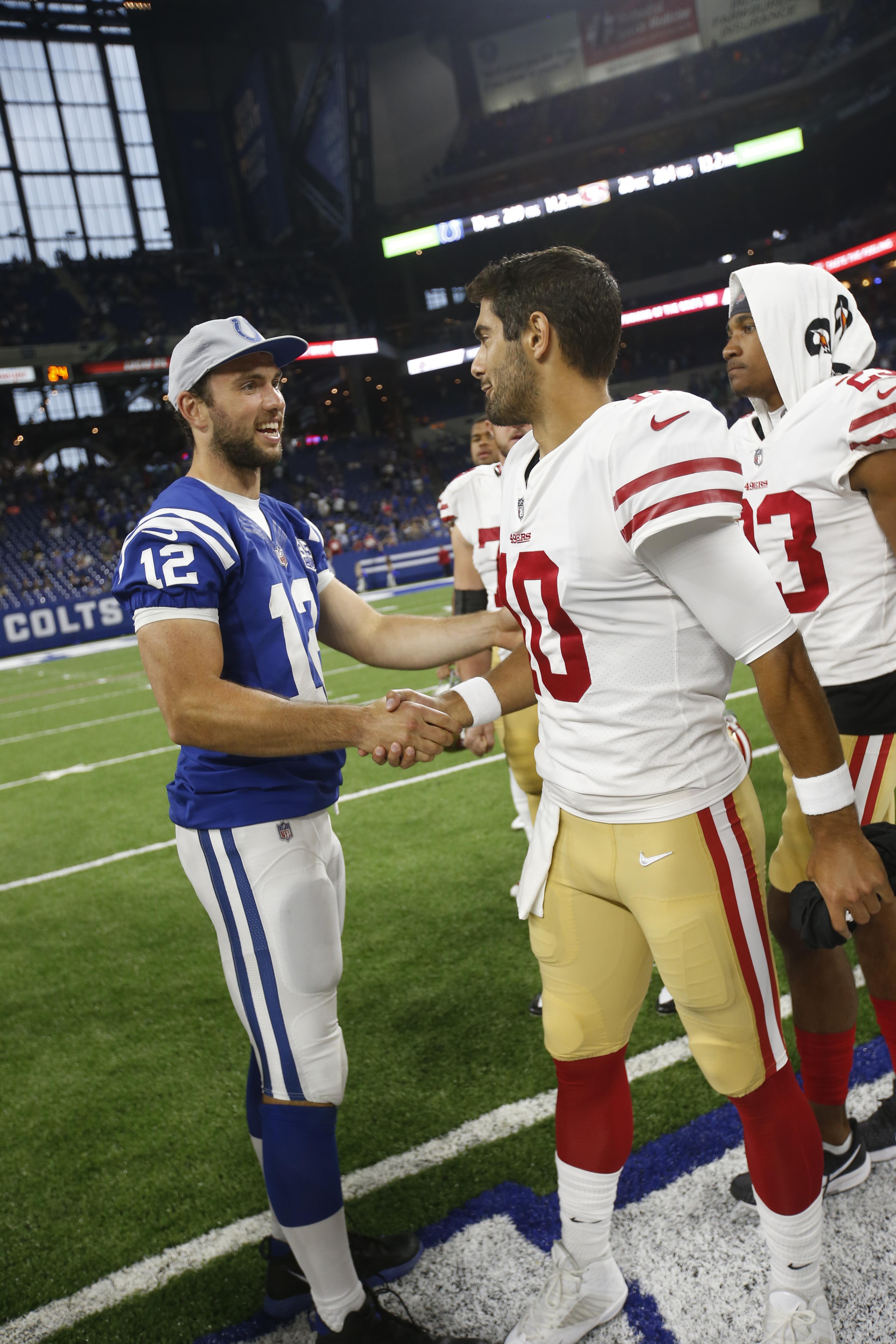 San Francisco 49ers v Indianapolis Colts