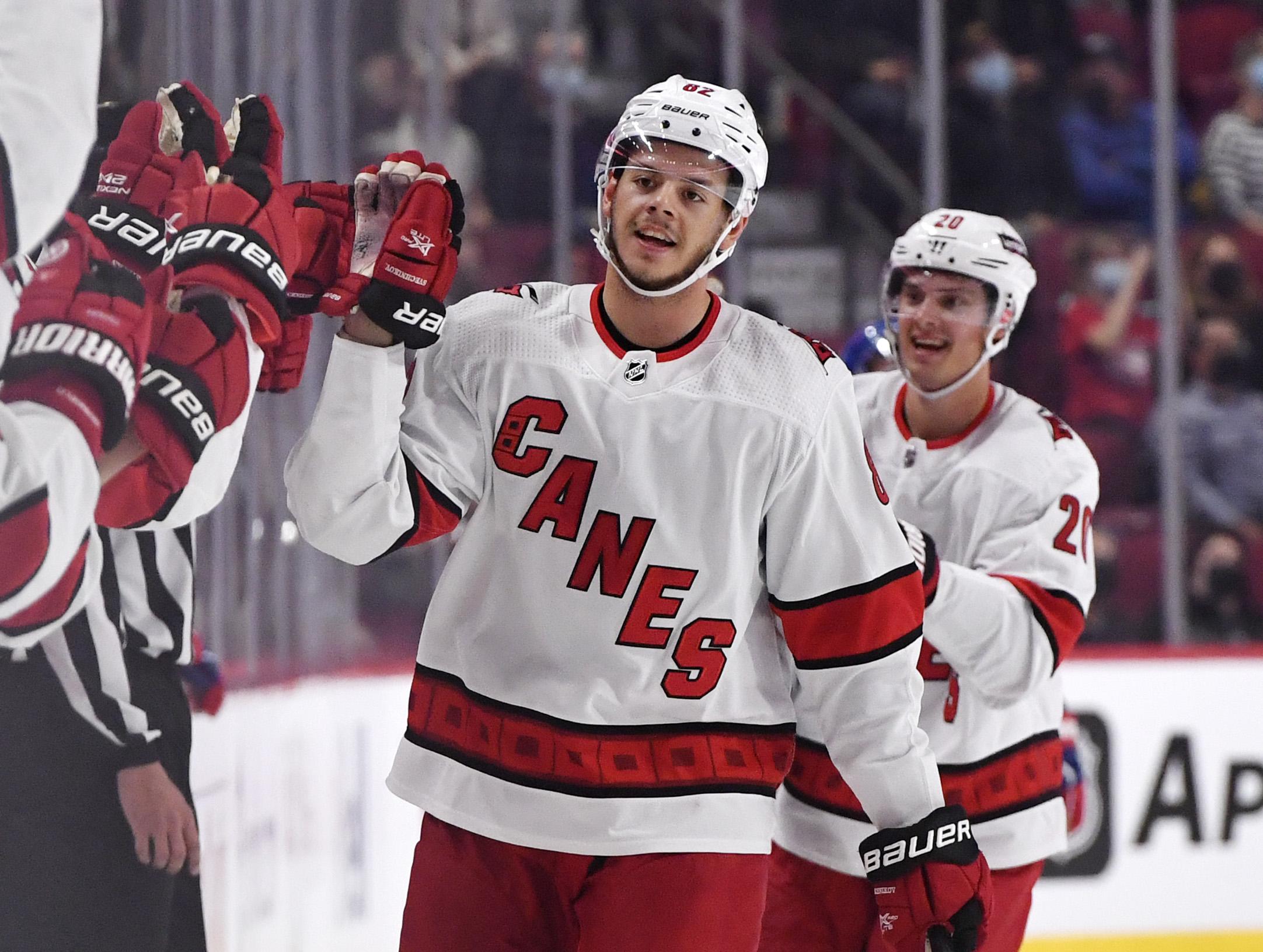 NHL: Carolina Hurricanes at Montreal Canadiens