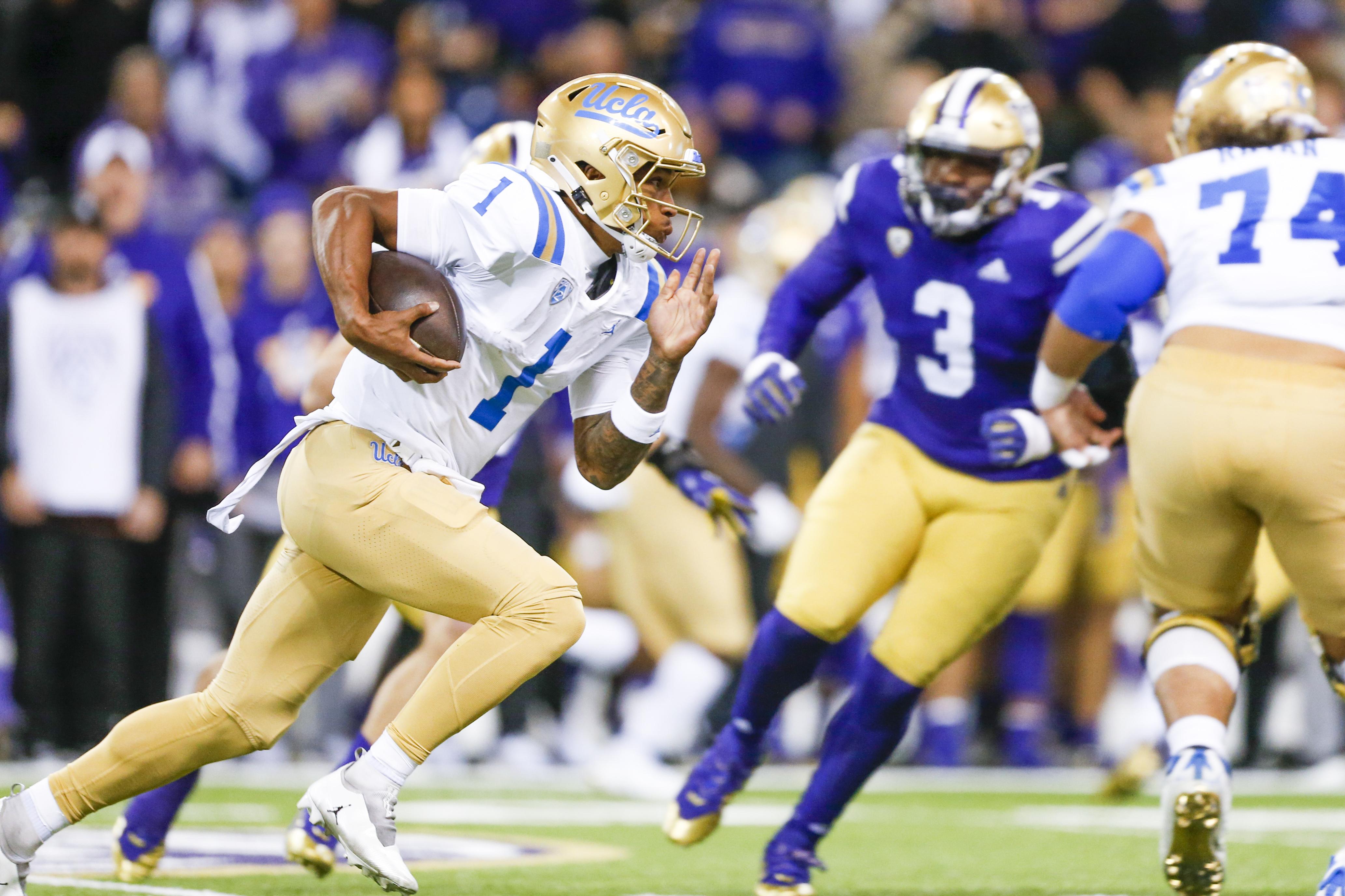 NCAA Football: UCLA at Washington