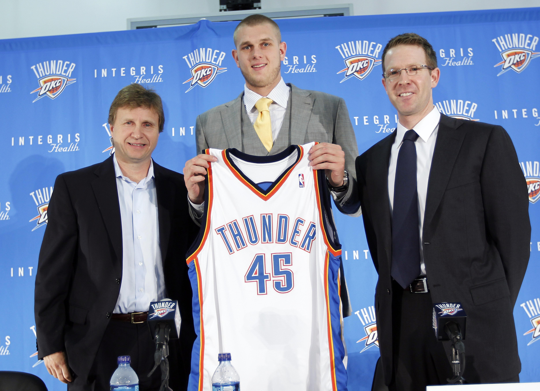 Oklahoma City Thunder Introduce Cole Aldrich