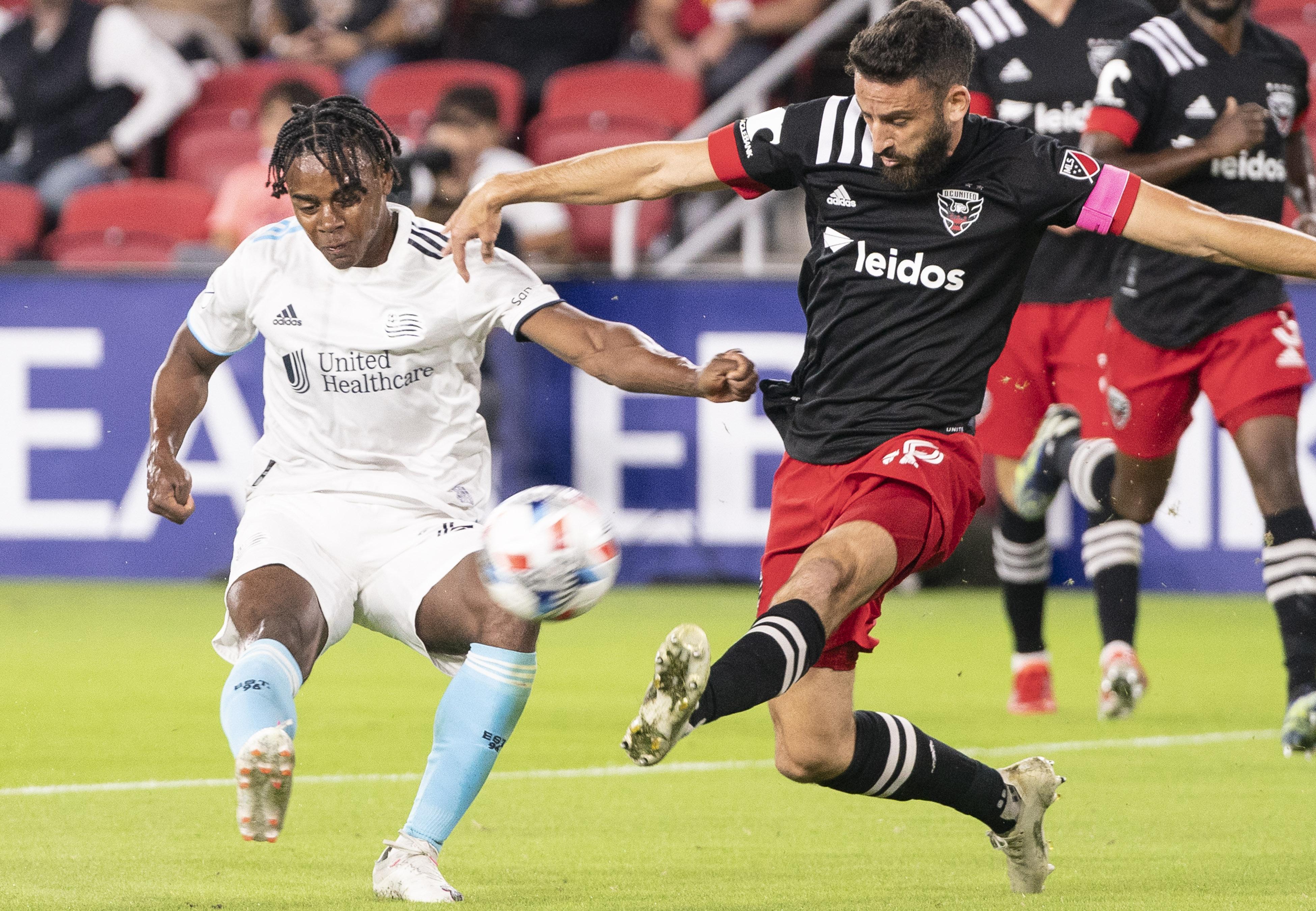 SOCCER: OCT 20 MLS - New England Revolution at DC United