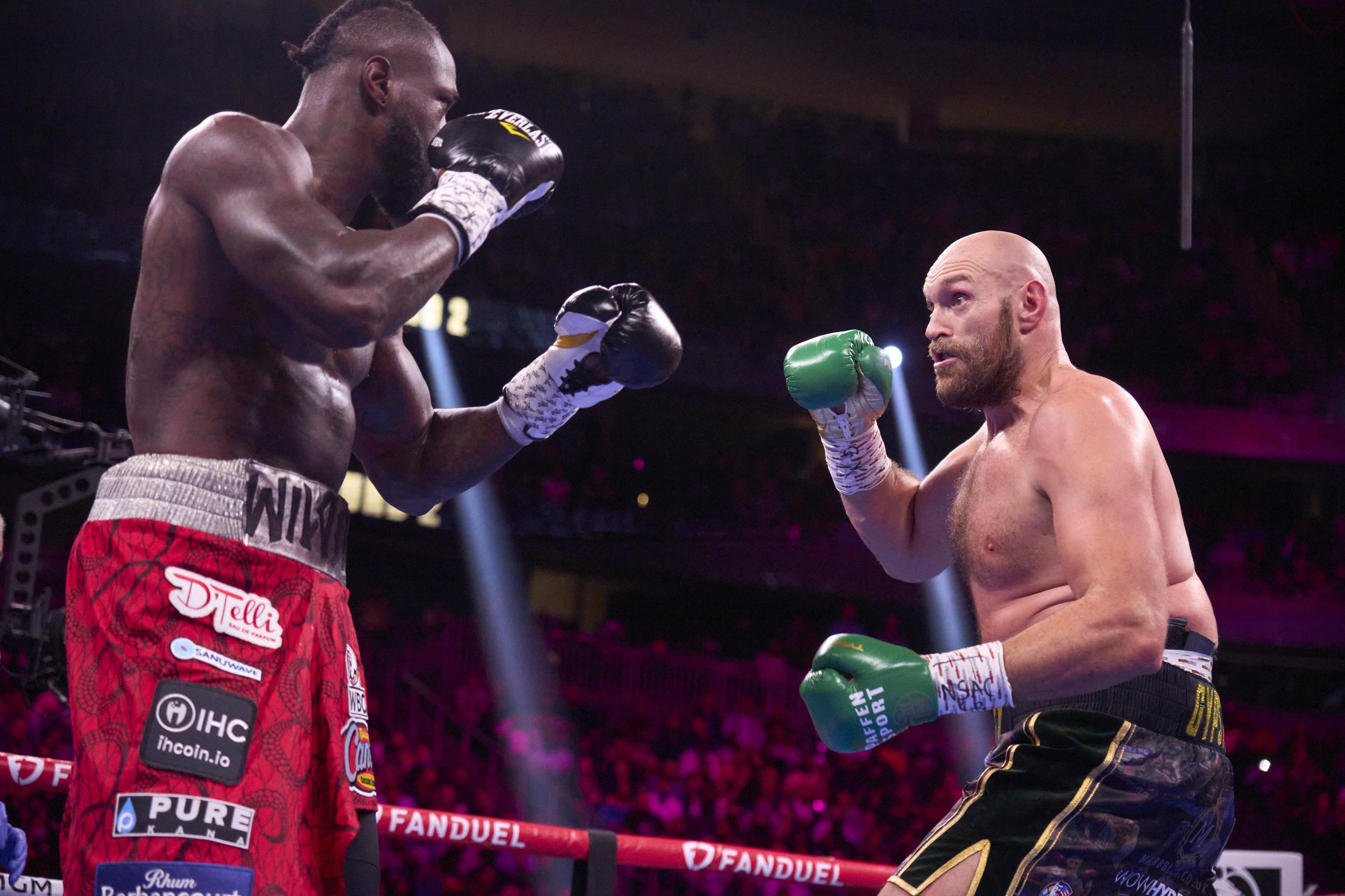 Tyson Fury vs Deontay Wilder, 2021 WBC Heavyweight Title