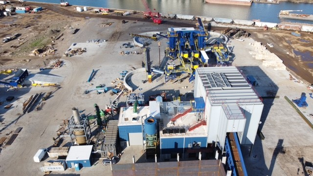 The opening of Reserve Management Group's metal-shredding facility on the Southeast Side is held up by a broad environmental analysis being conducted by the city.