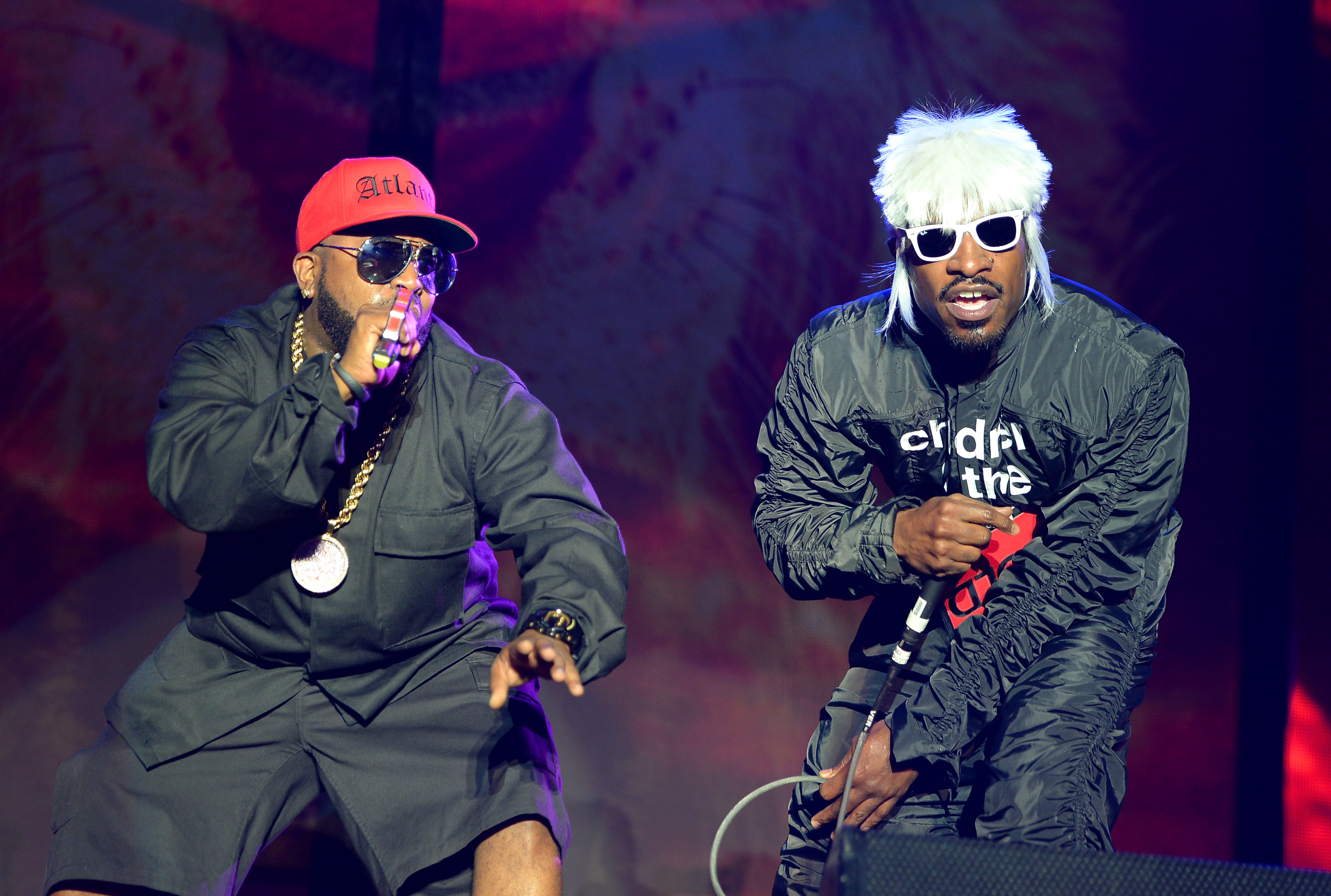 Big Boi and Andre 3000
