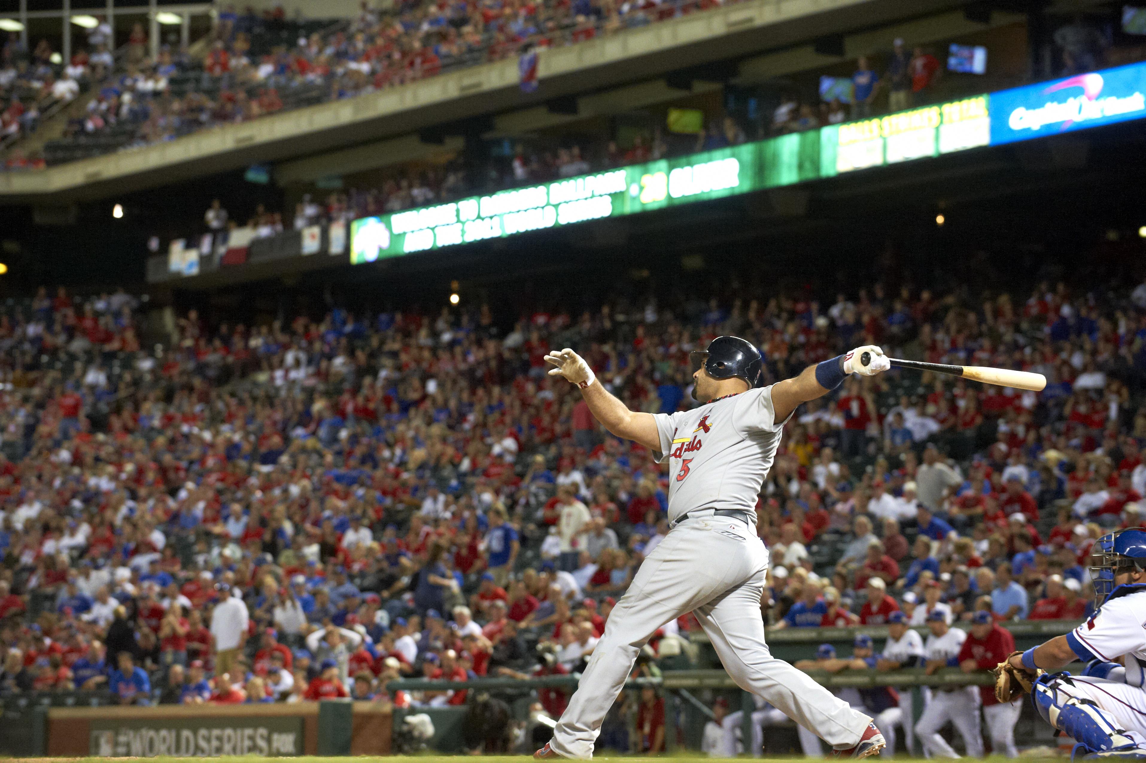 2011 World Series Game 3 - Texas Rangers v St Louis Cardinals