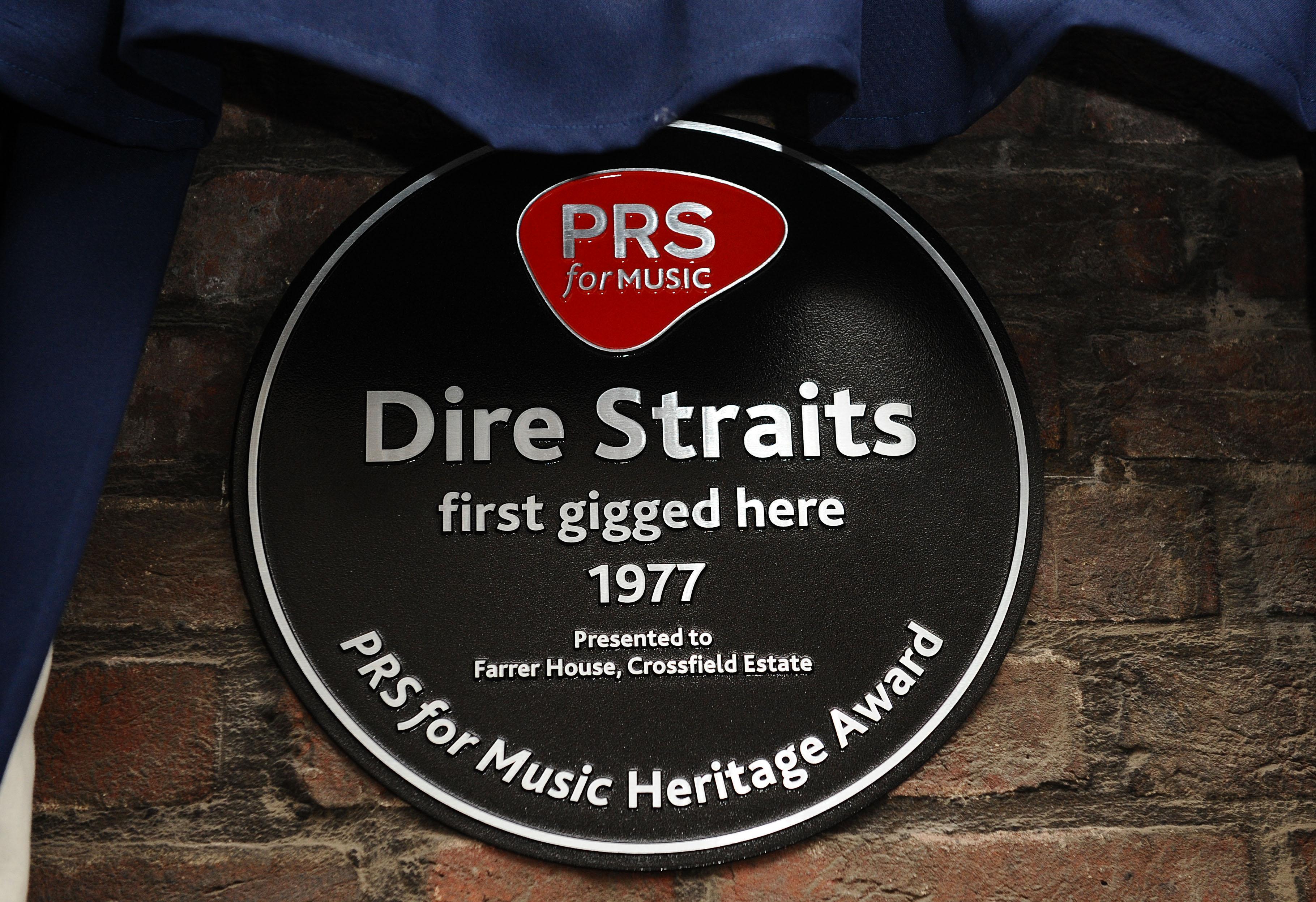 Dire Straits honoured