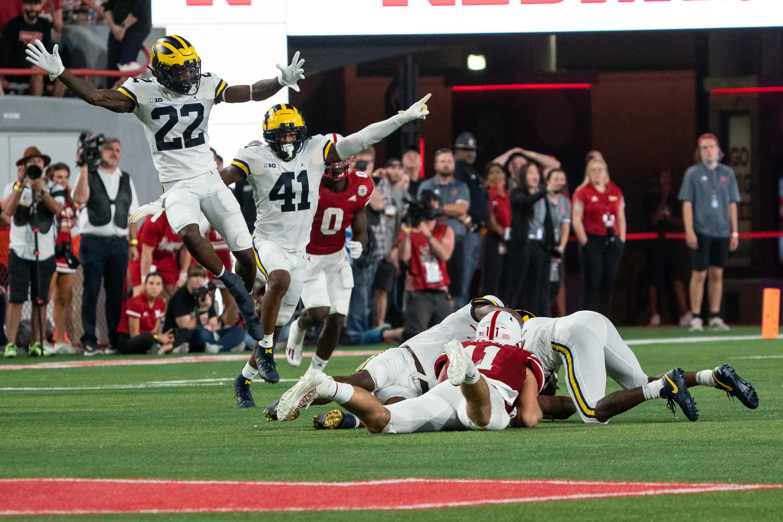 NCAA Football: Michigan at Nebraska