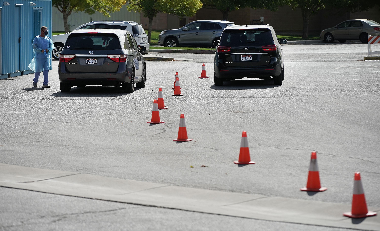 COVID-19 testing in Utah.