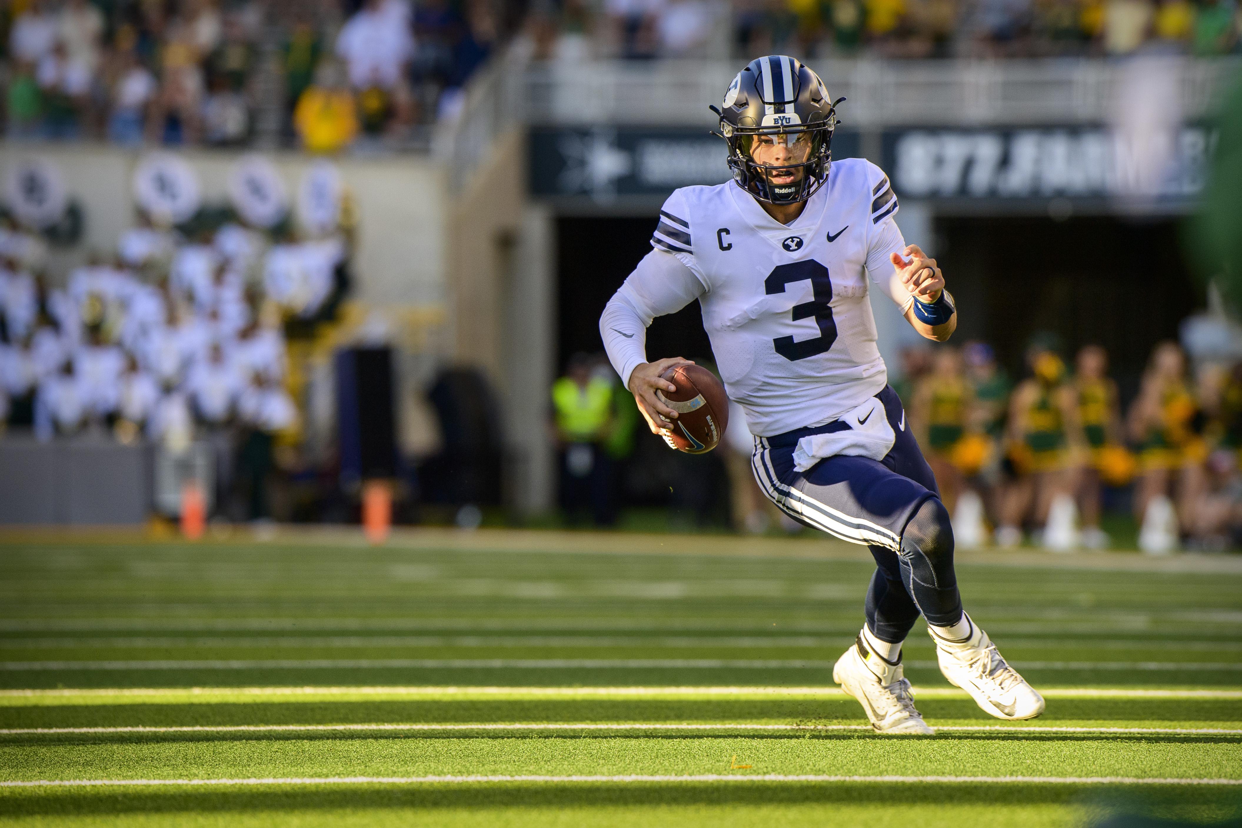 NCAA Football: Brigham Young at Baylor