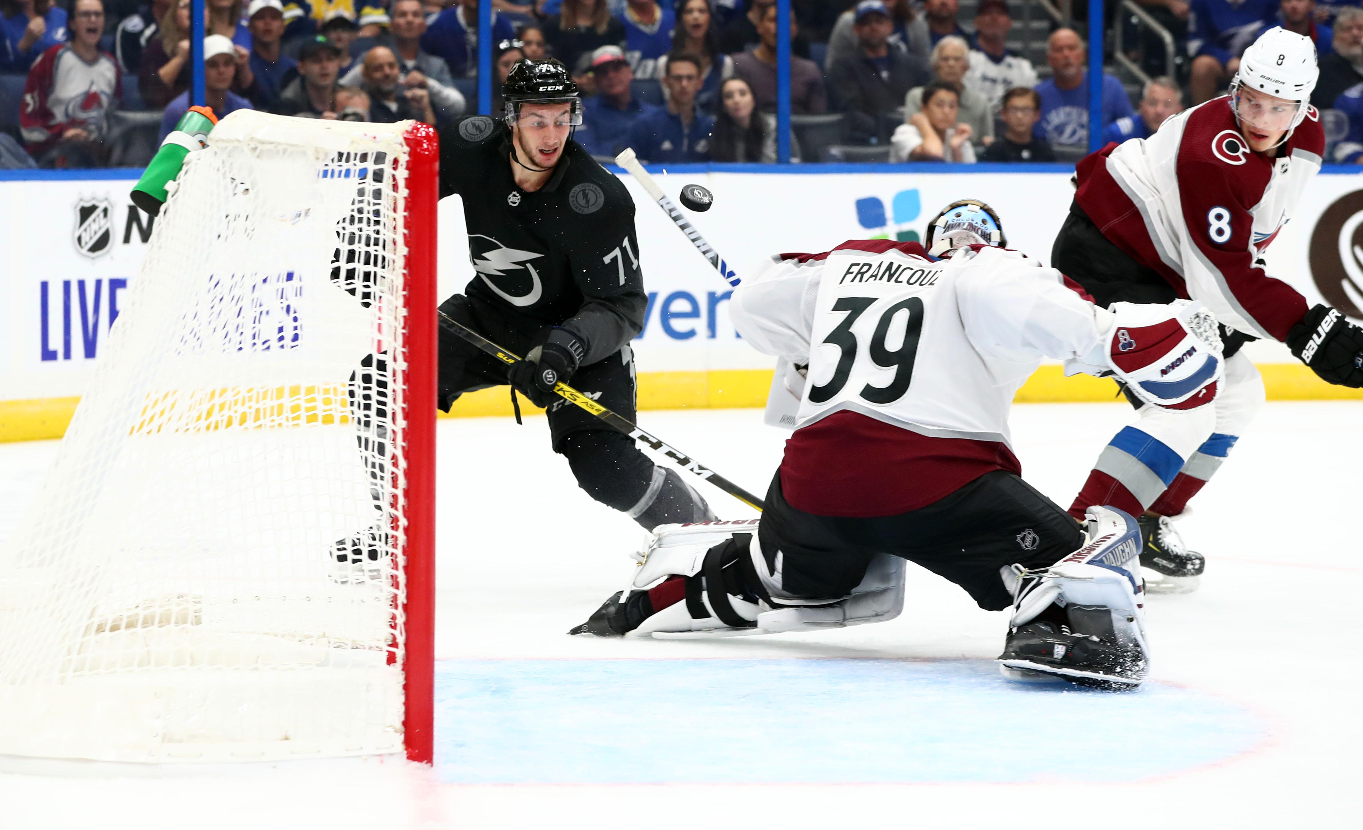 NHL: Colorado Avalanche at Tampa Bay Lightning