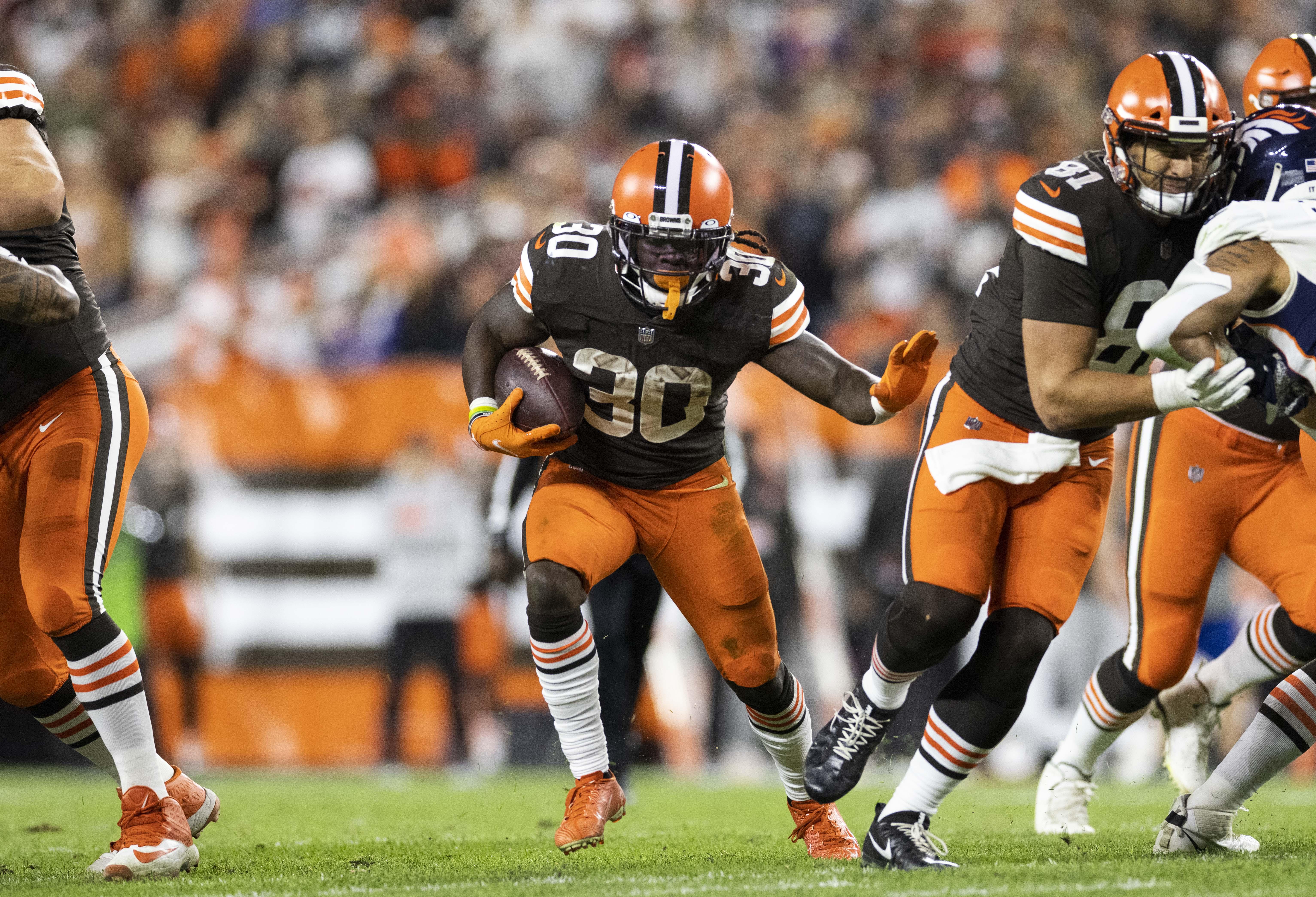 NFL: Denver Broncos at Cleveland Browns