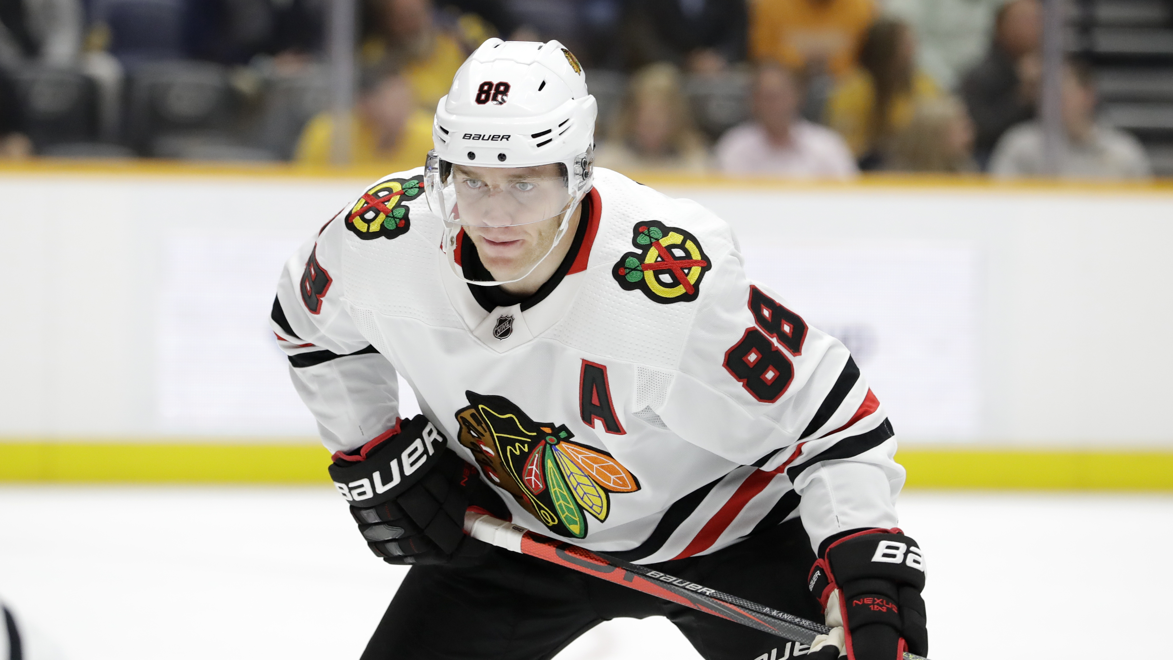 Patrick Kane has tallied a solid nine points in 11 games so far, but the rest of the Blackhawks' core hasn't been so productive.