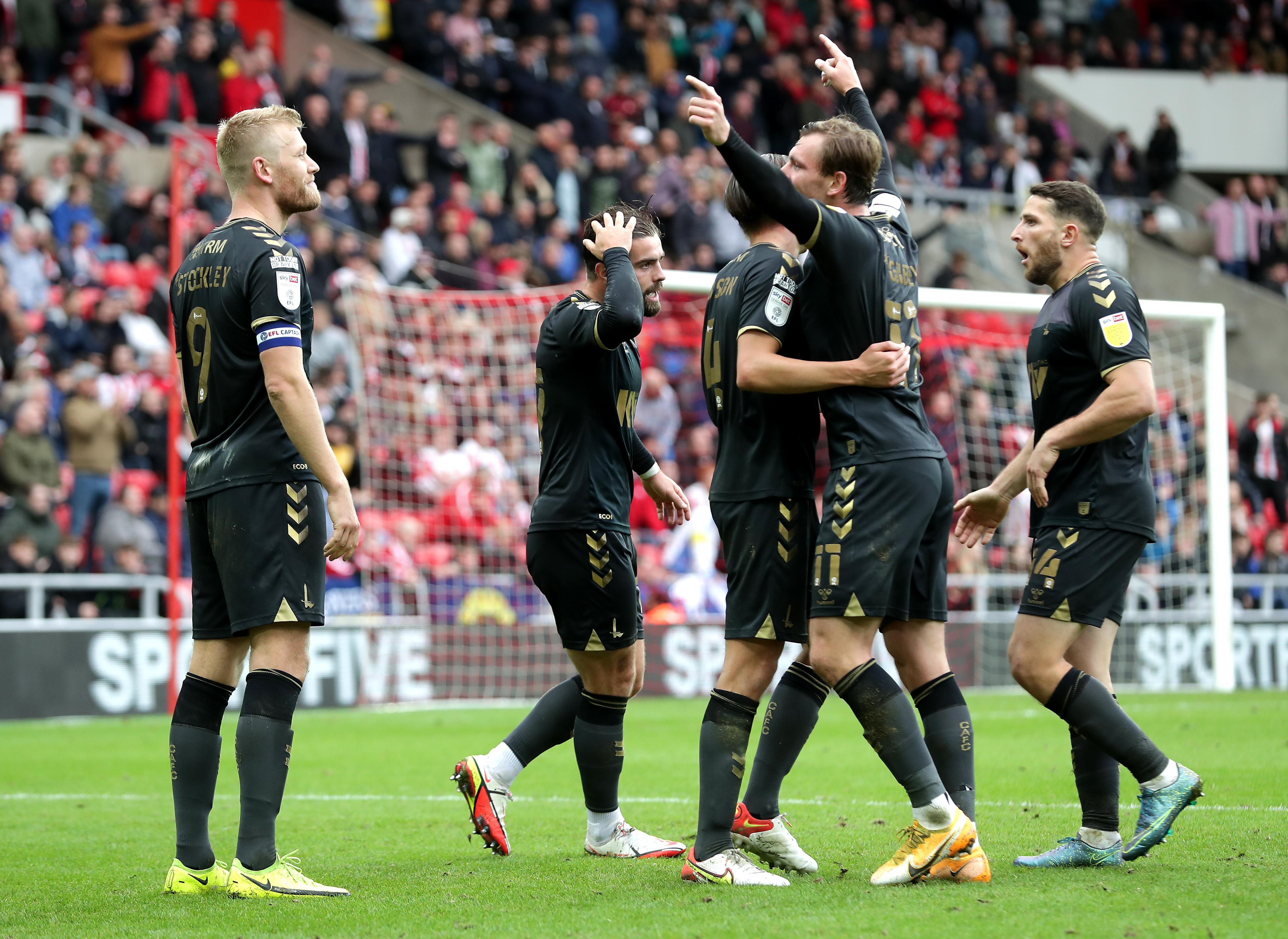 Sunderland v Charlton Athletic - Sky Bet League One - Stadium Of Light
