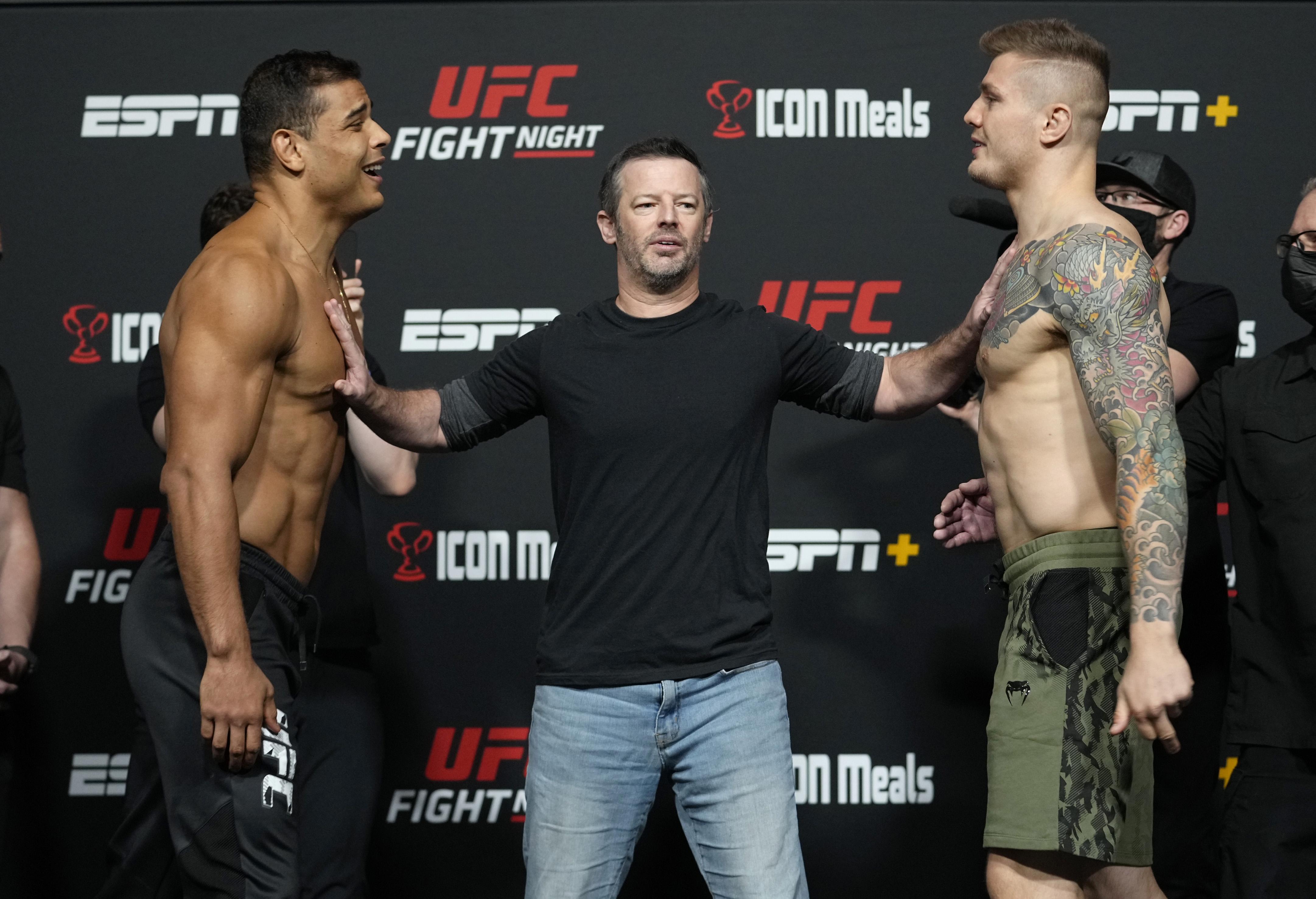 UFC Fight Night: Costa v Vettori weigh-in