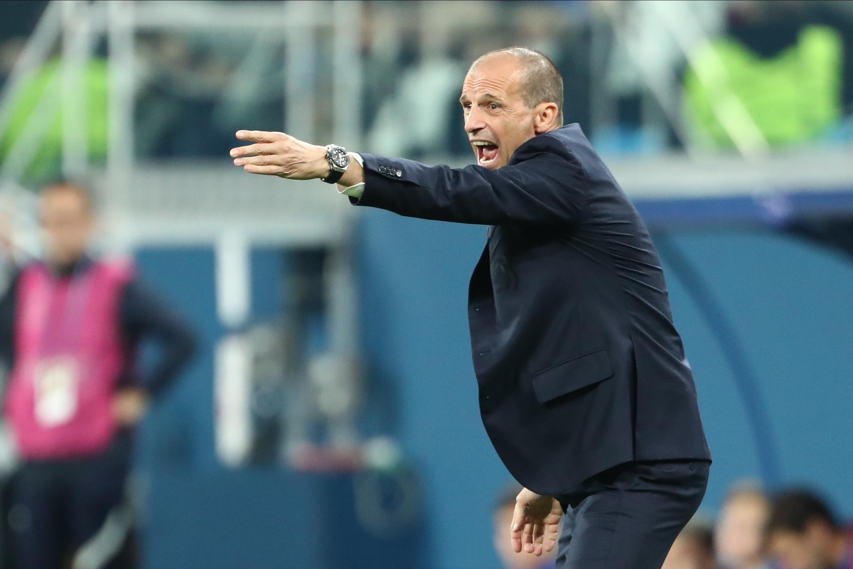 SOCCER: OCT 20 Champions League - FC Juventus at FC Zenit