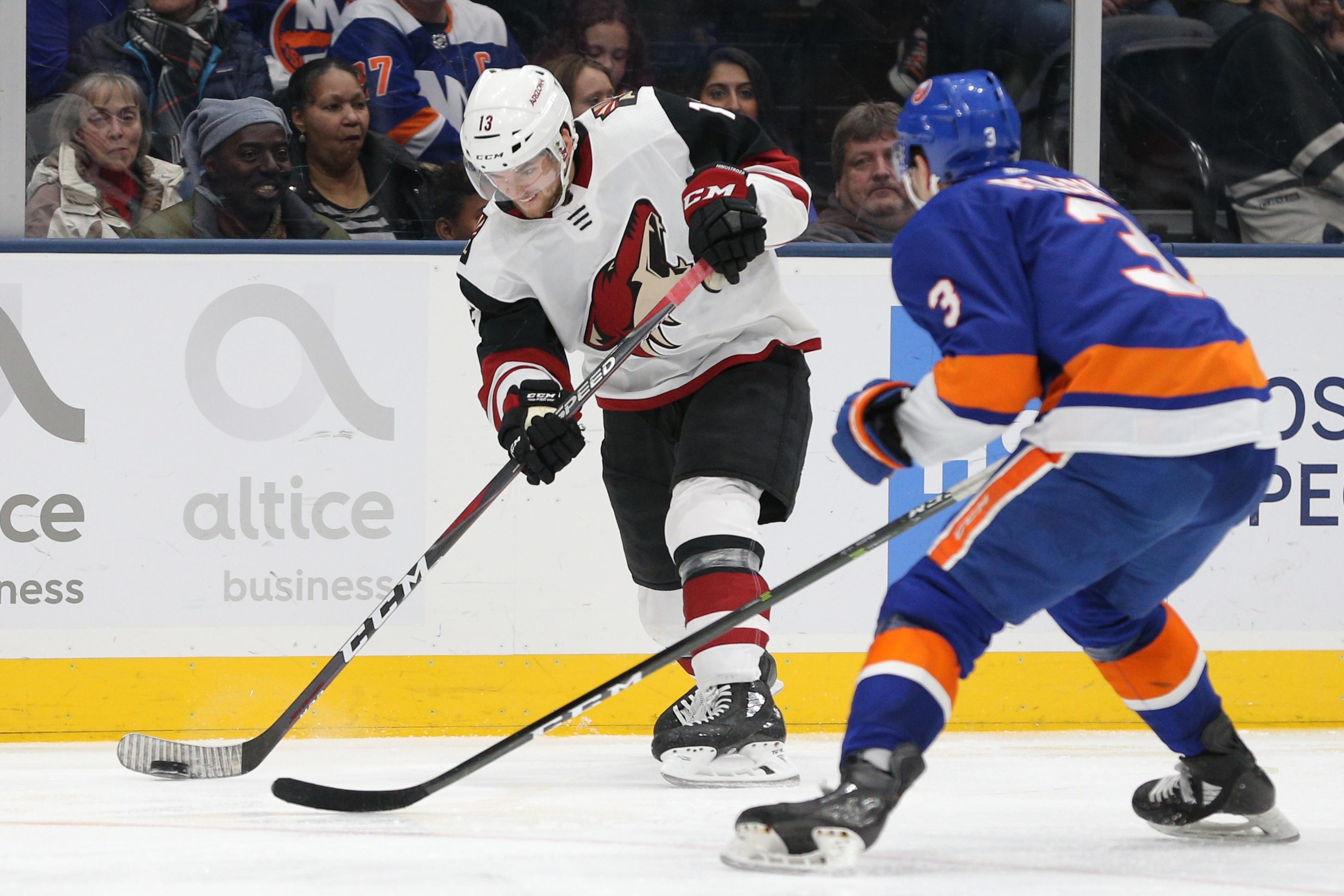 NHL: Arizona Coyotes at New York Islanders