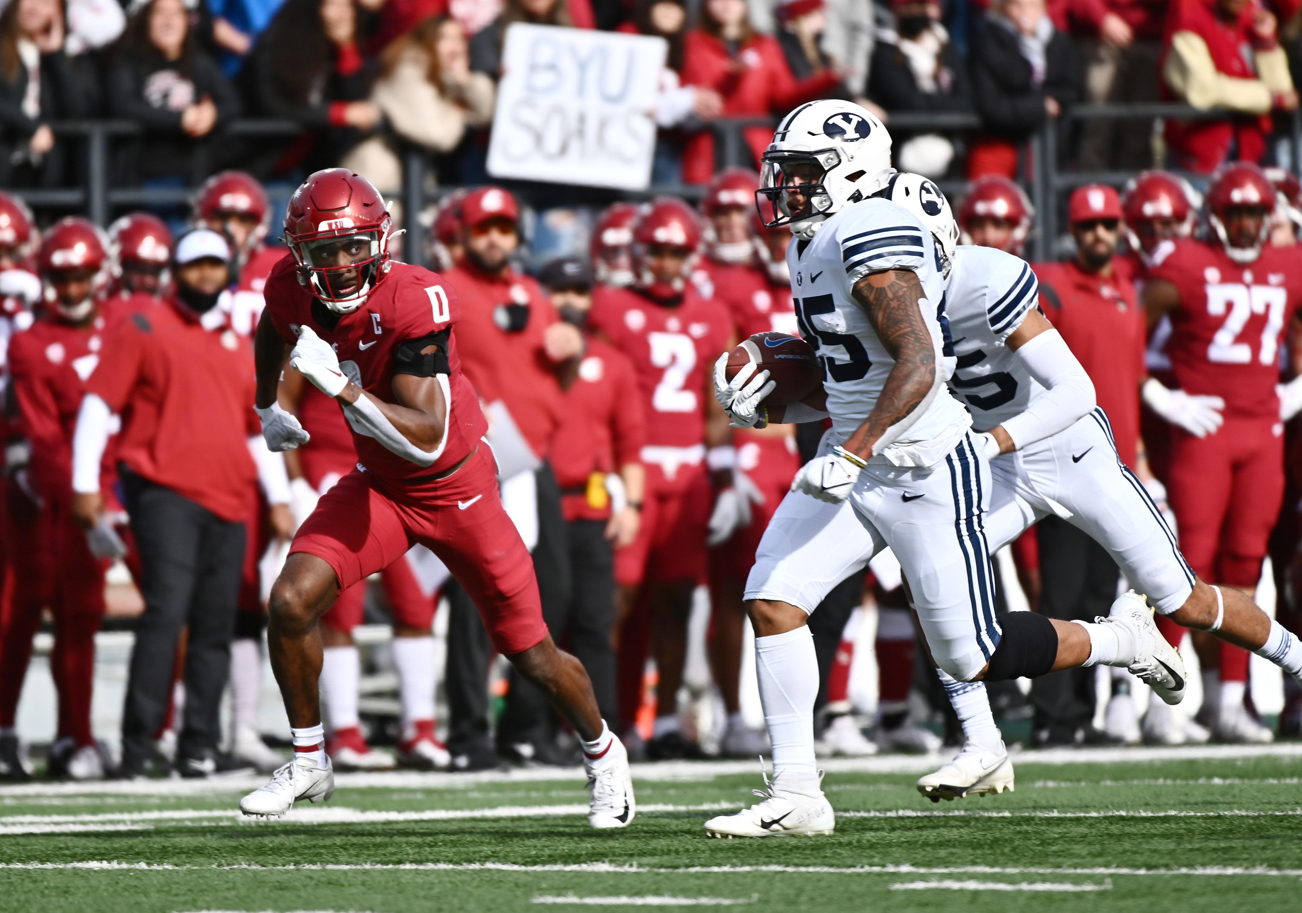 NCAA Football: Brigham Young at Washington State