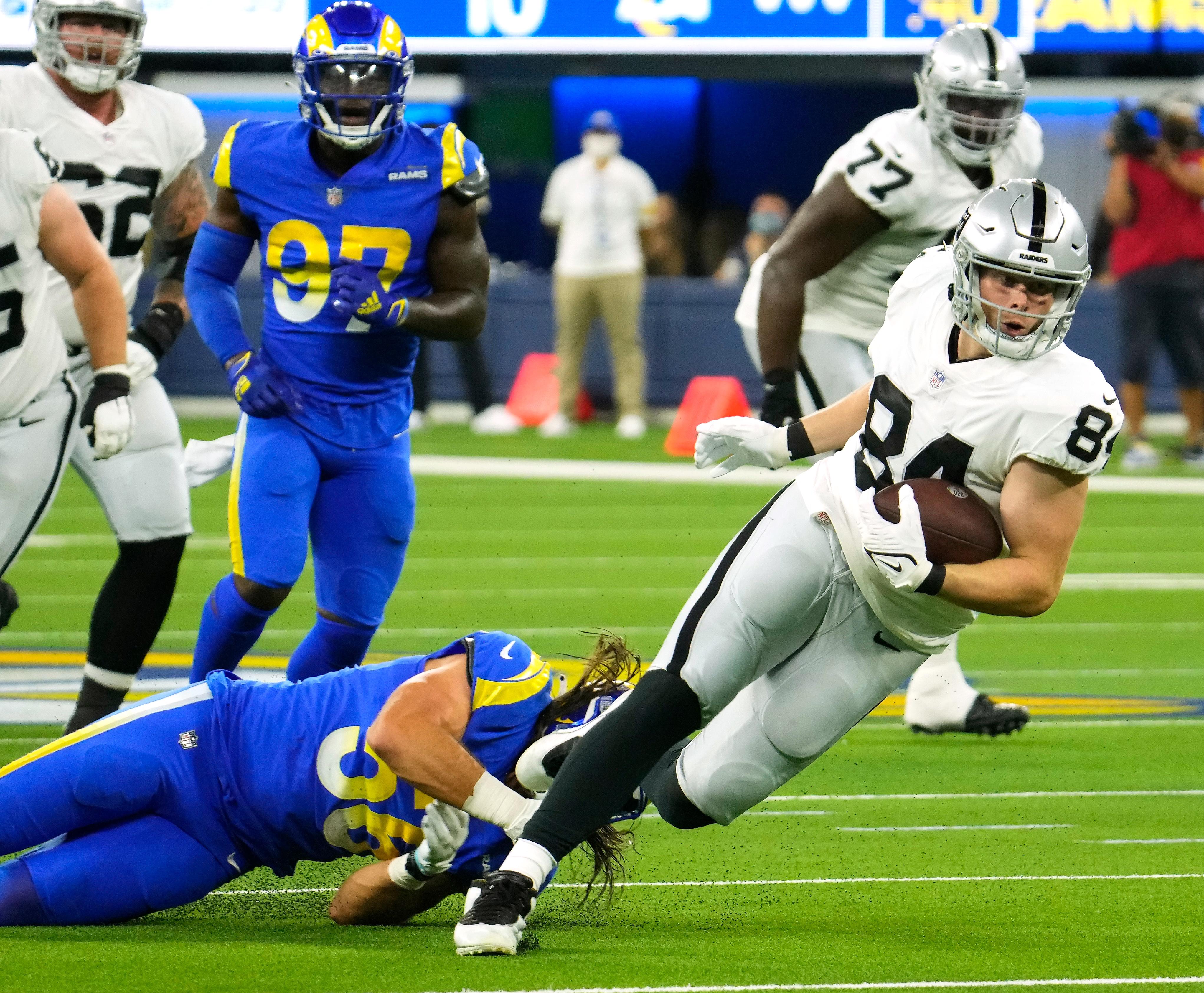 NFL: Las Vegas Raiders at Los Angeles Rams