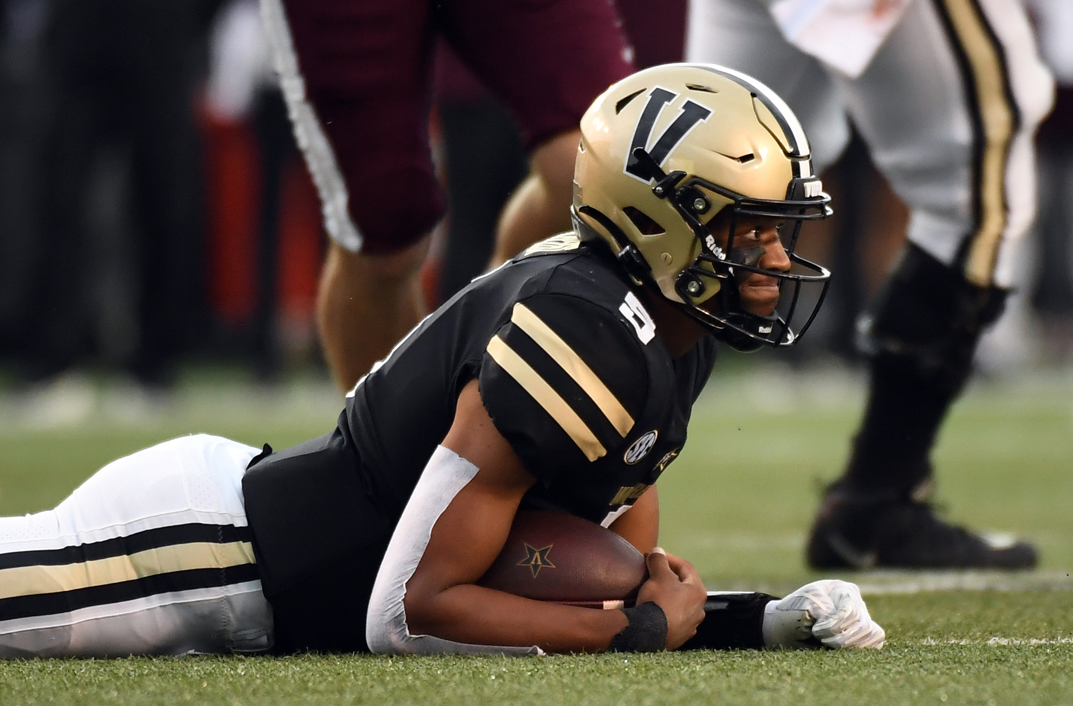 NCAA Football: Mississippi State at Vanderbilt