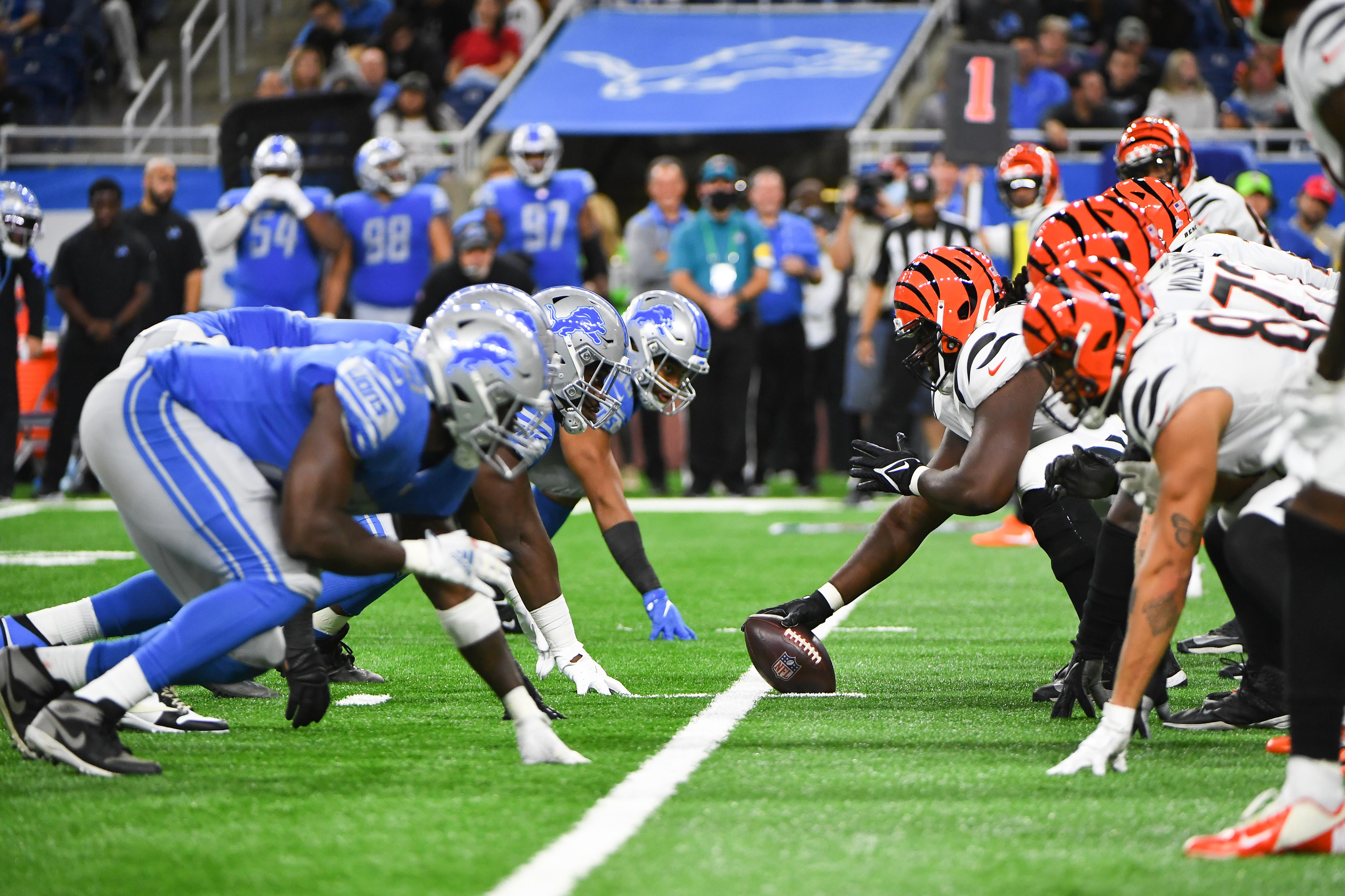 NFL: OCT 17 Bengals at Lions