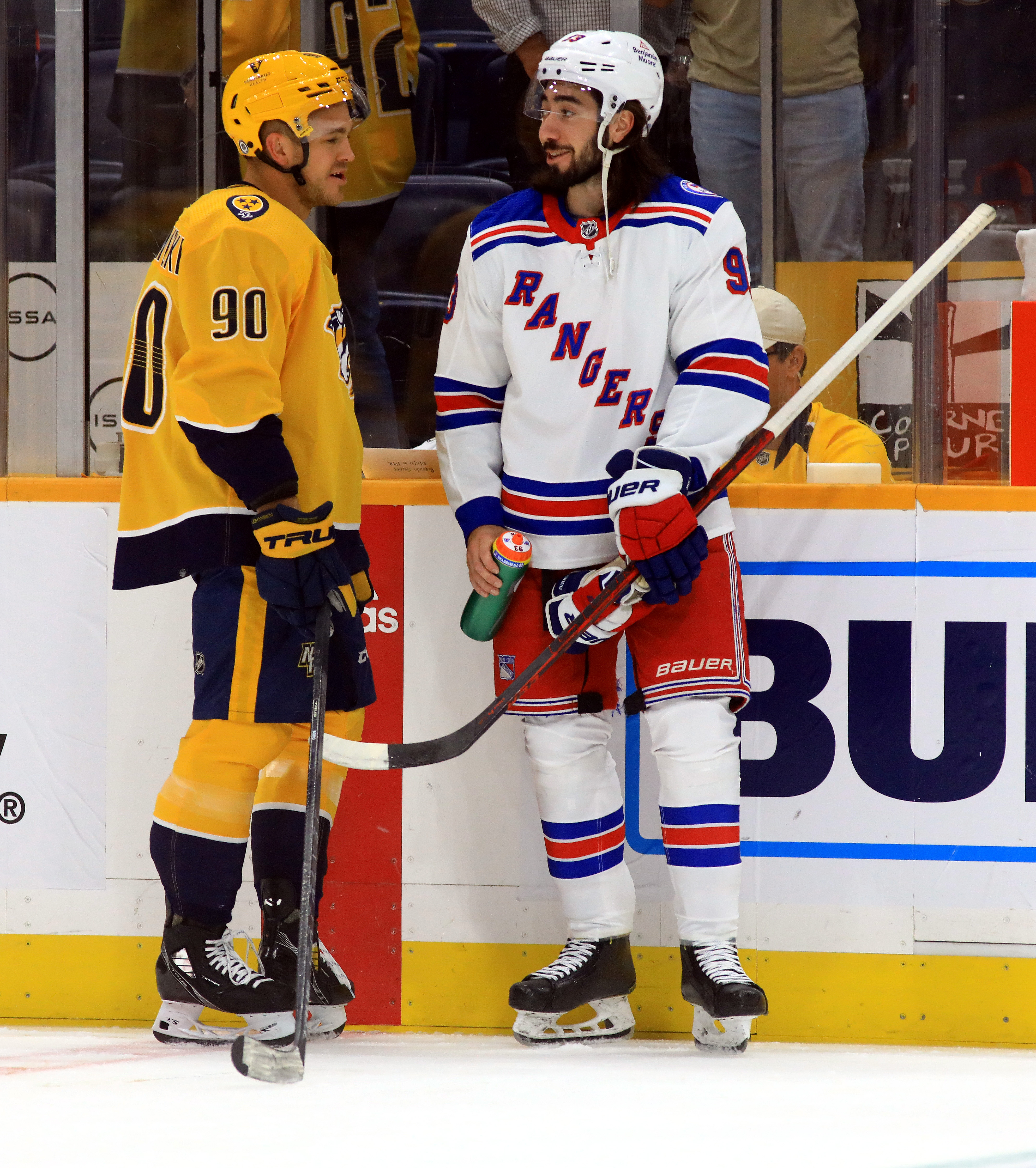 NHL: OCT 21 Rangers at Predators