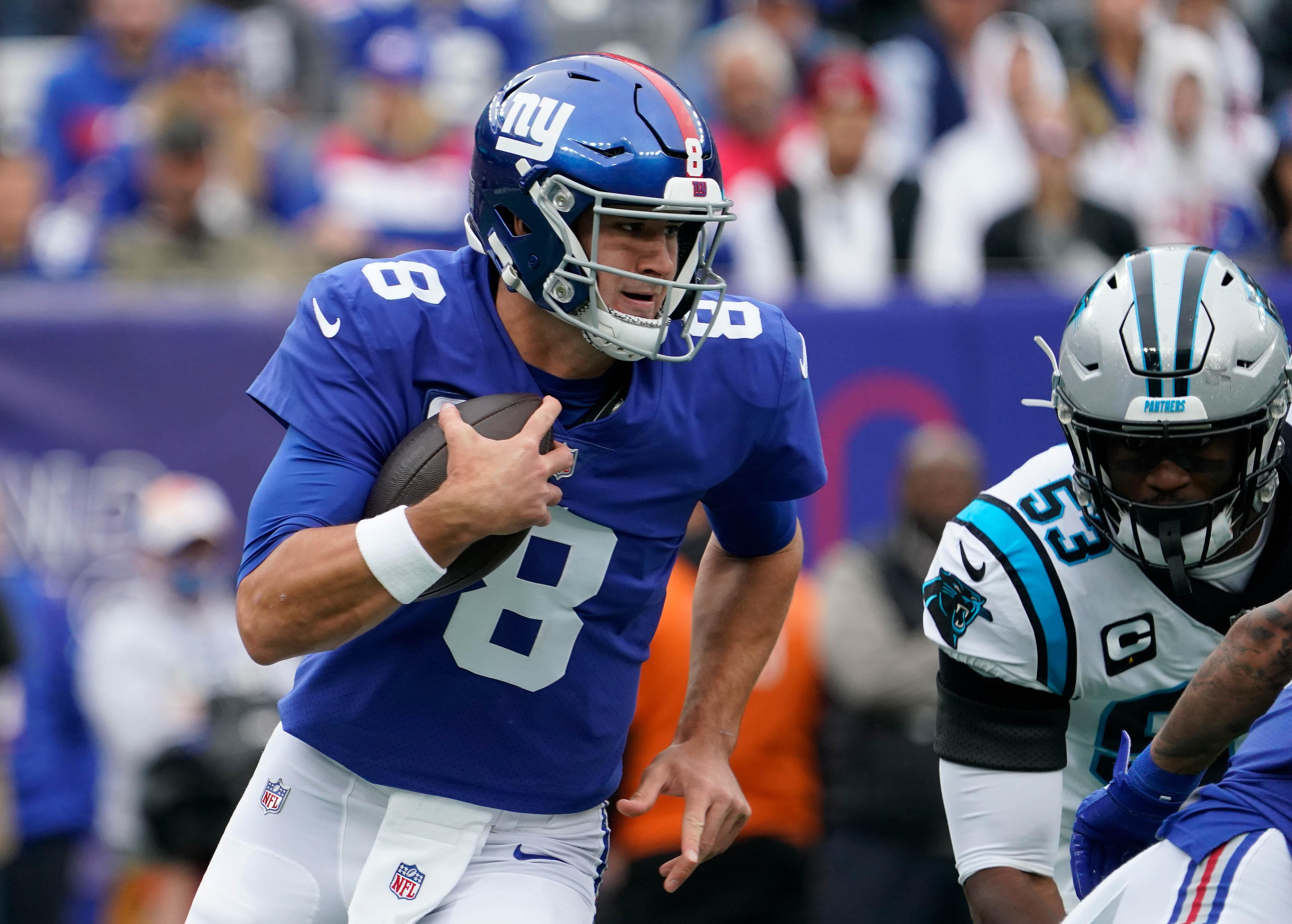 NFL: Carolina Panthers at New York Giants