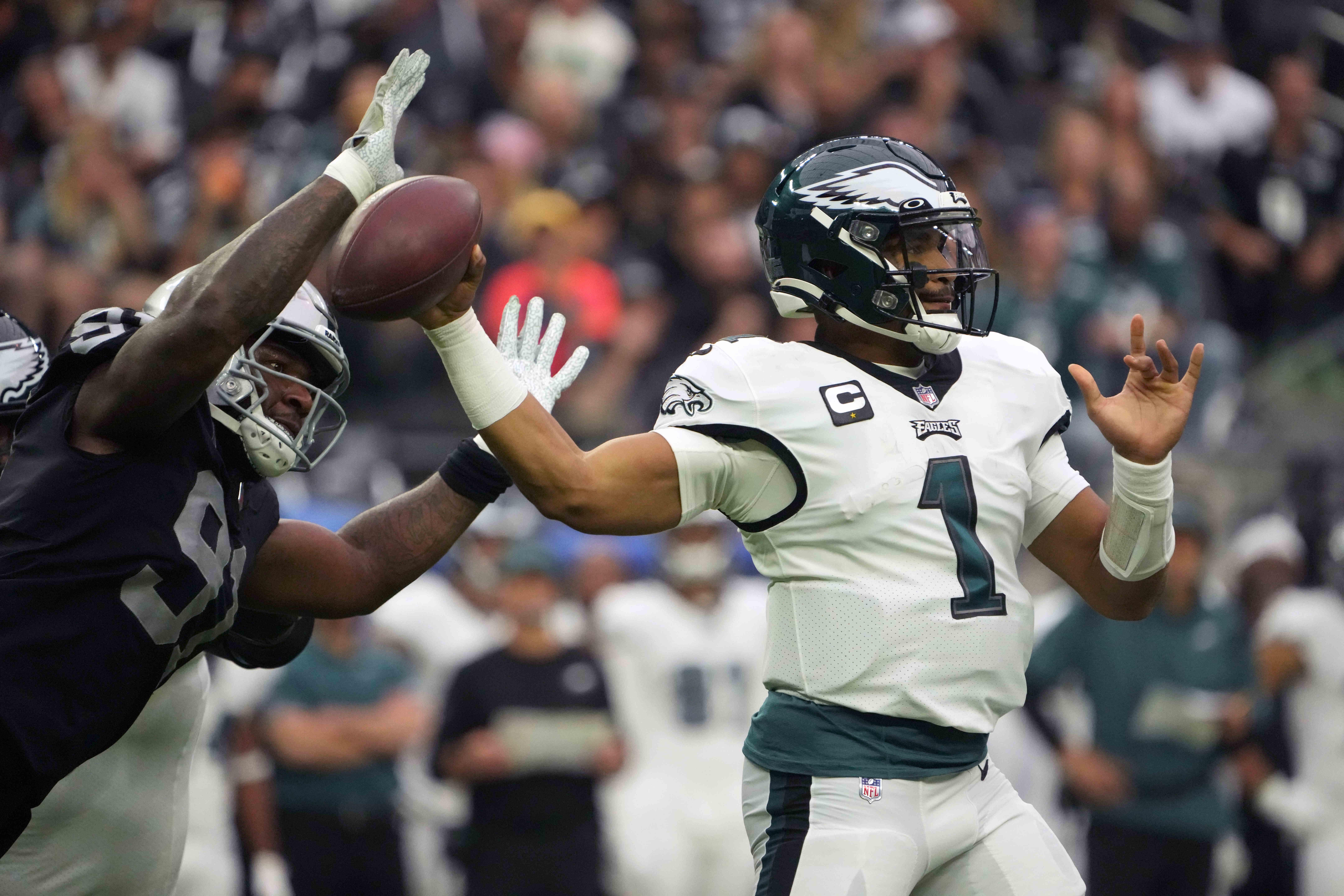 NFL: Philadelphia Eagles at Las Vegas Raiders