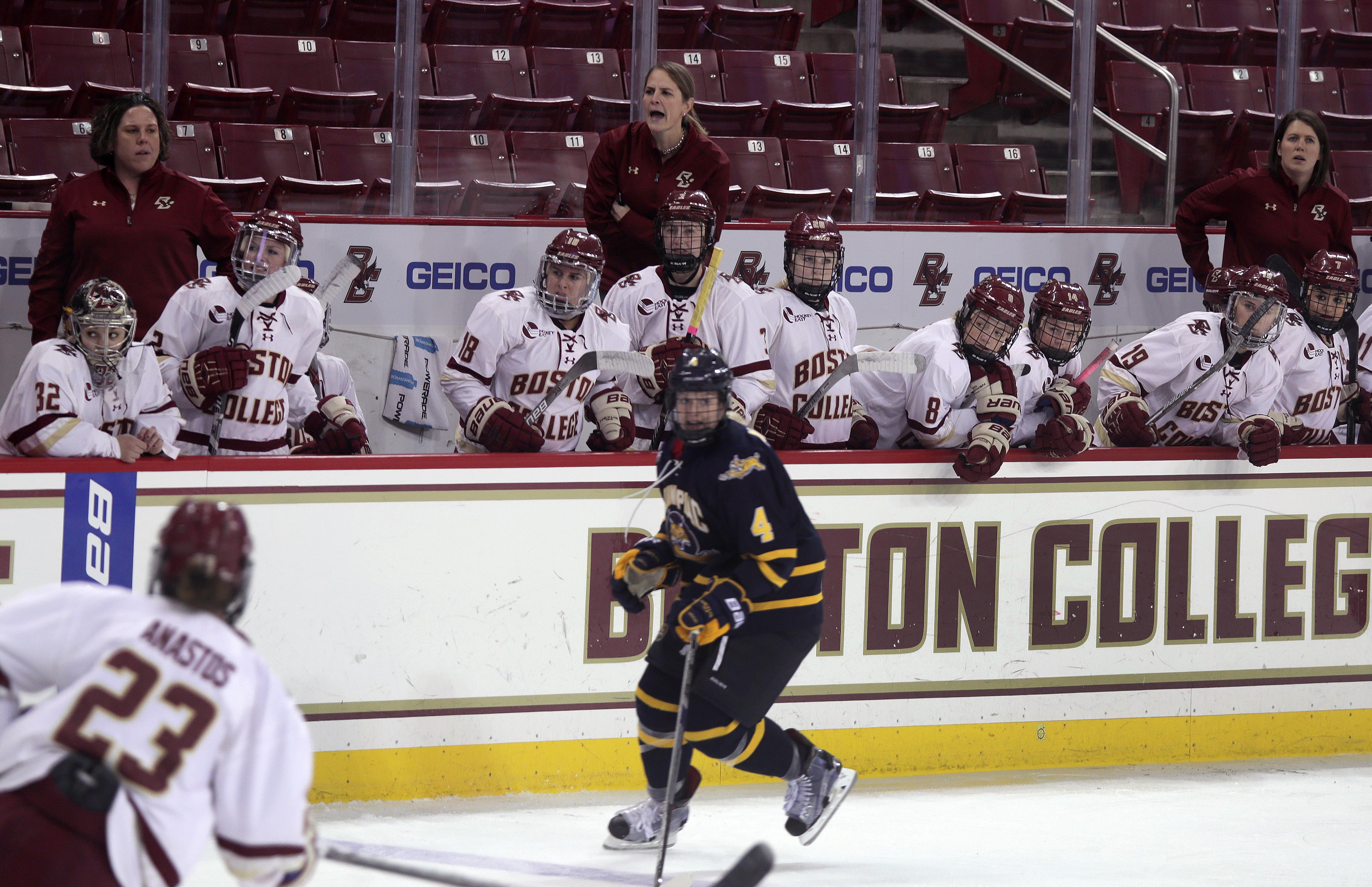 Boston College Women's Hockey Coachs