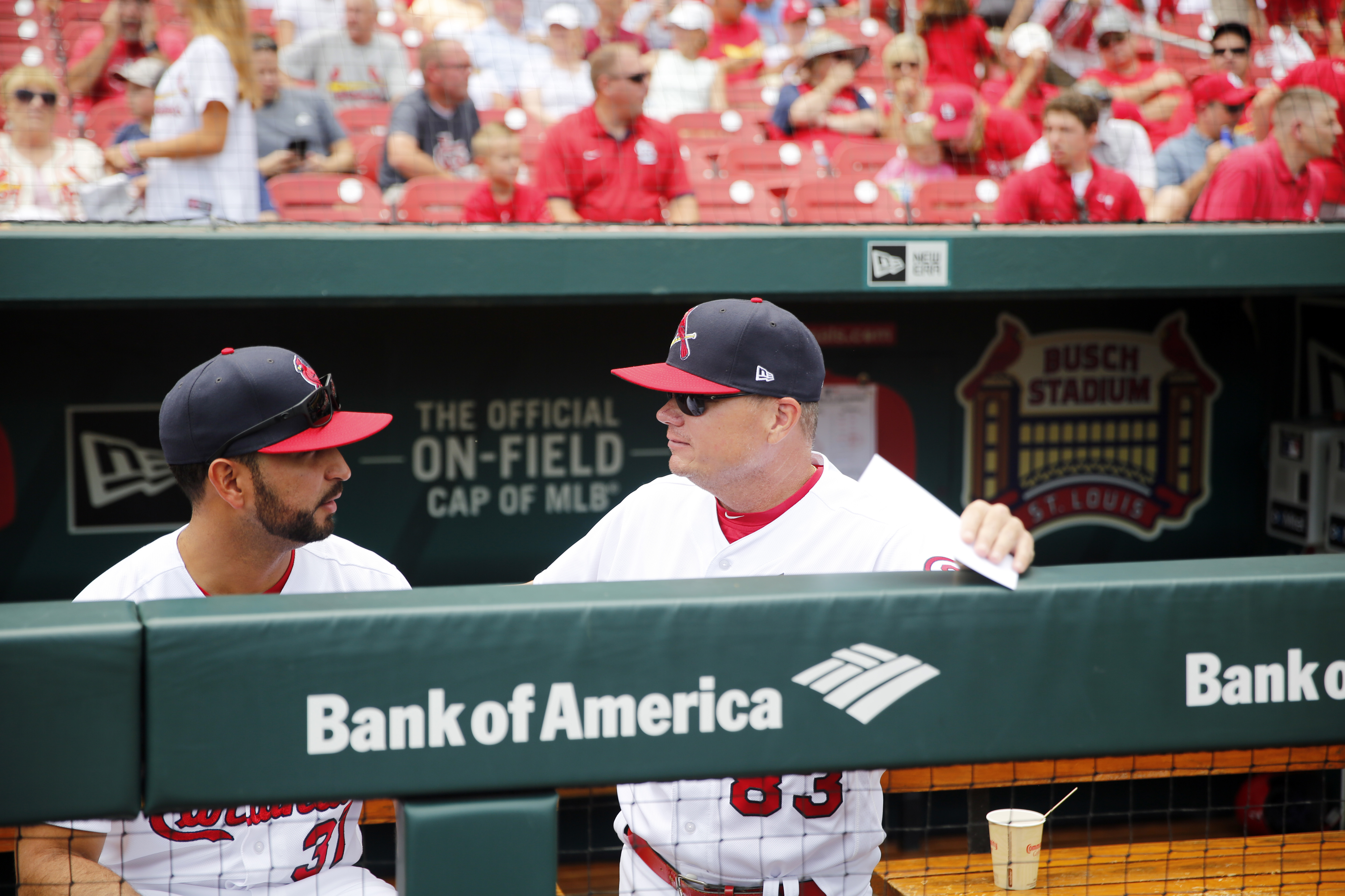 The Cardinals will promote bench coach Oliver Marmol (left) to replace fired manager Mike Shildt.