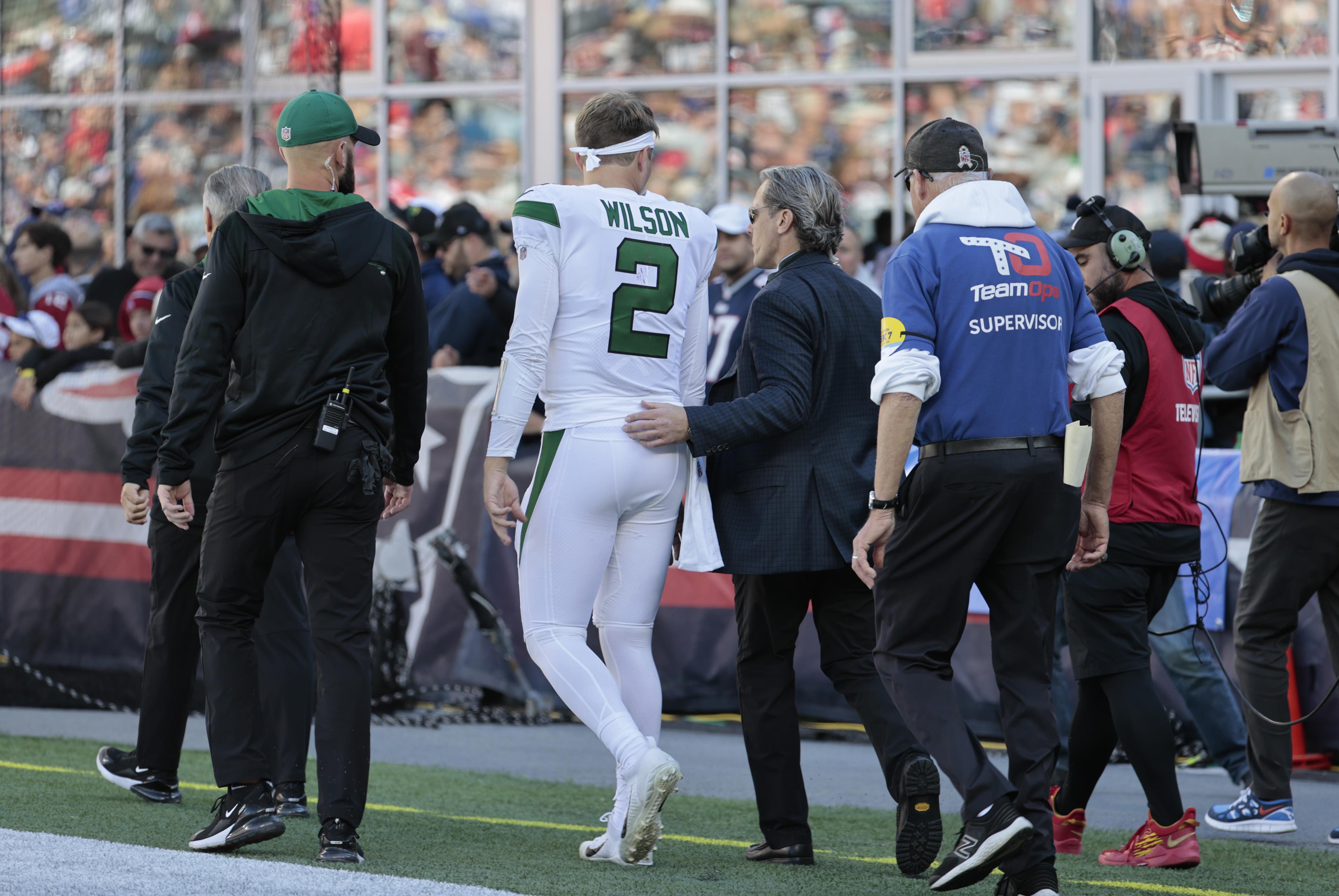 NFL: OCT 24 Jets at Patriots