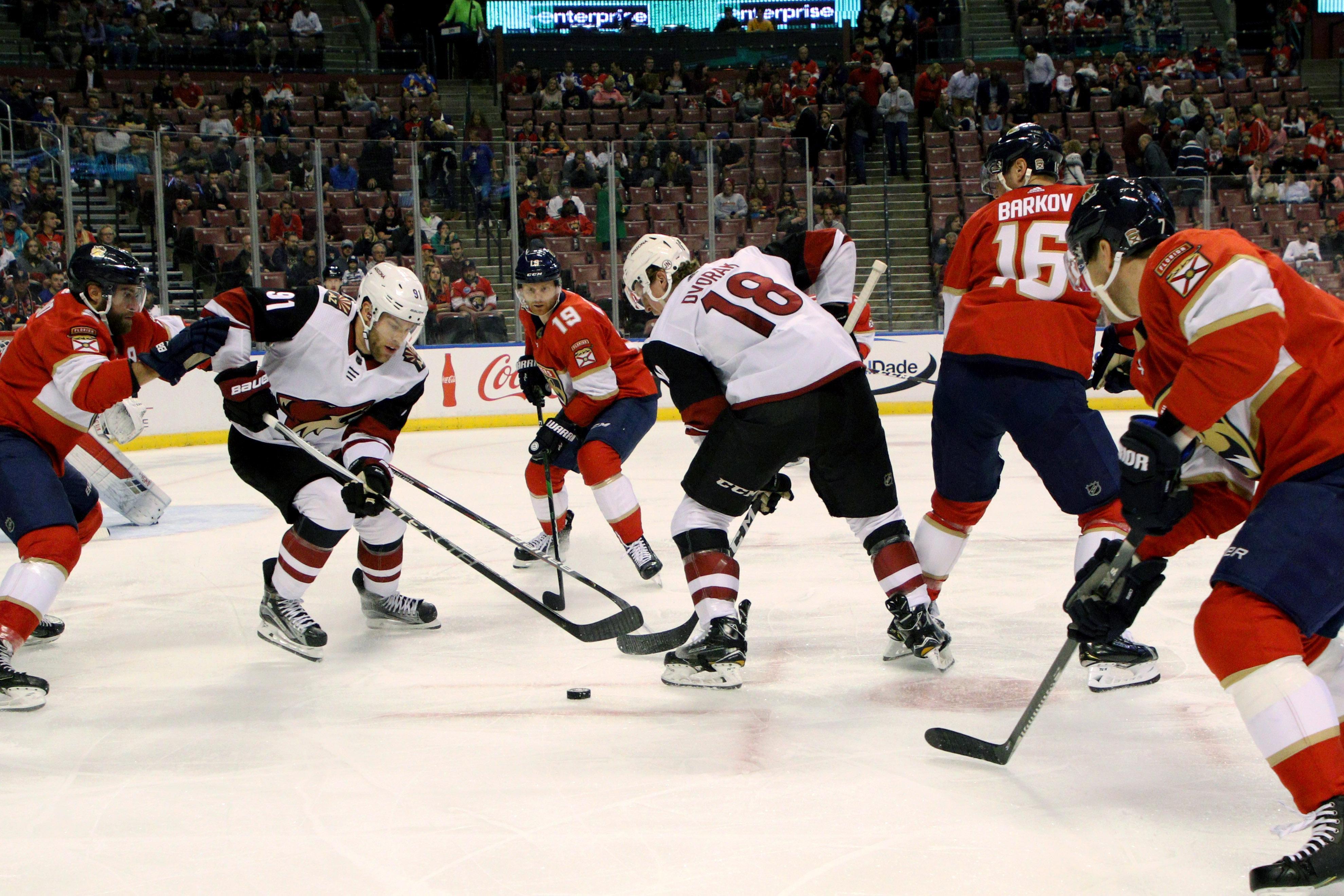 NHL: JAN 07 Coyotes at Panthers