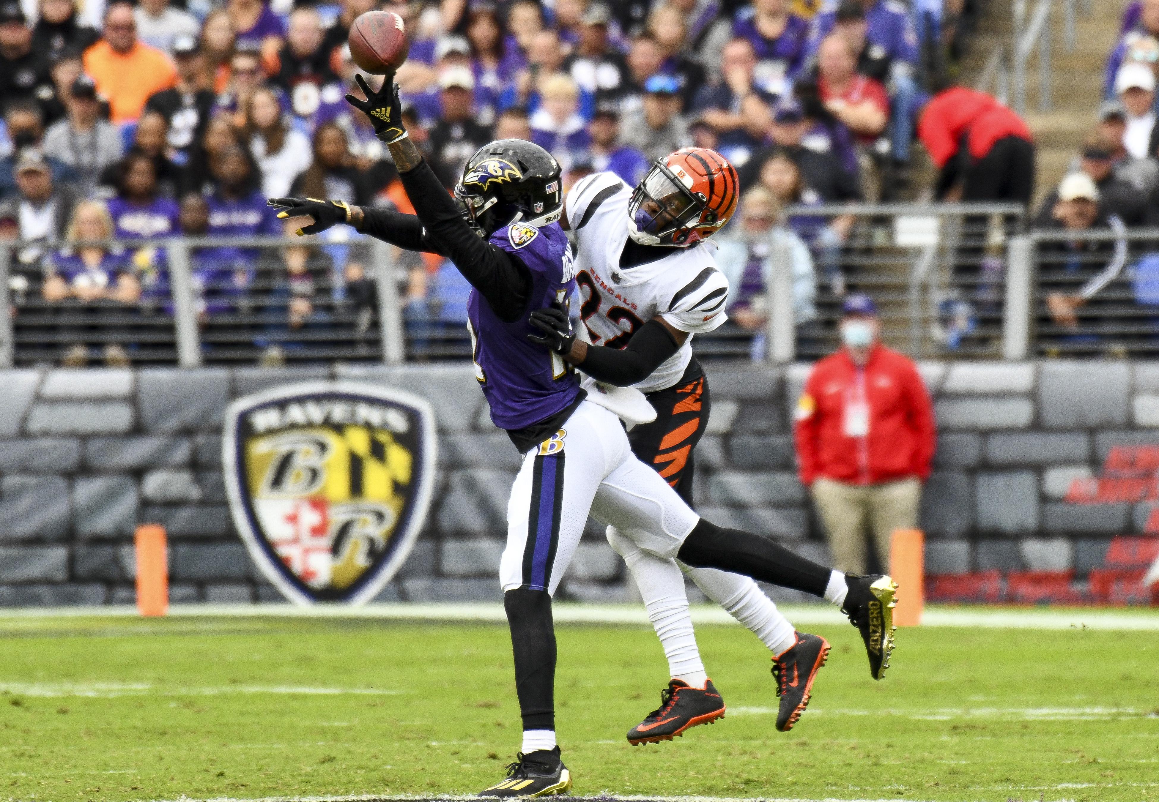 NFL: OCT 24 Bengals at Ravens
