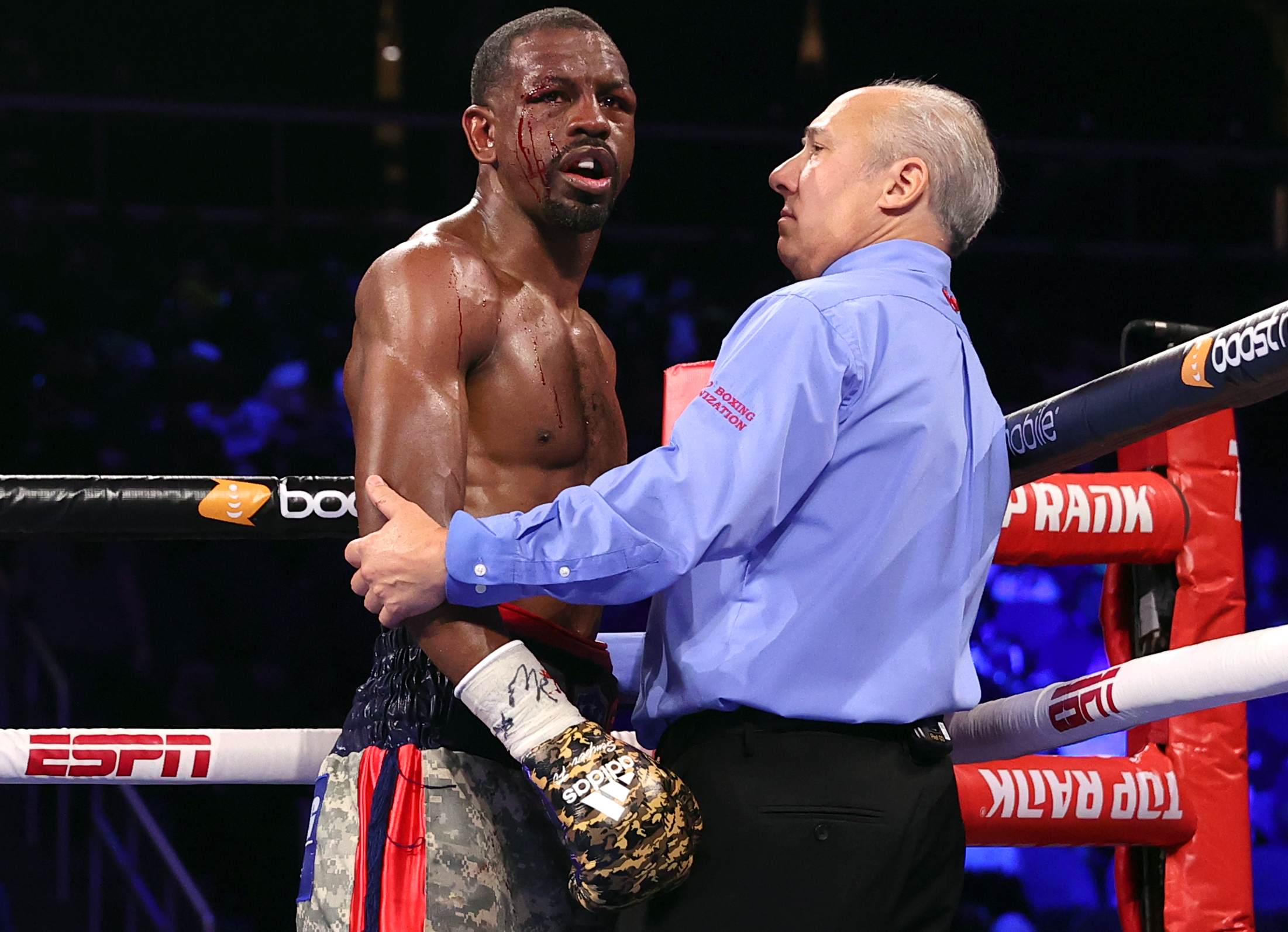 Jamel Herring is considering his next move after defeat against Shakur Stevenson