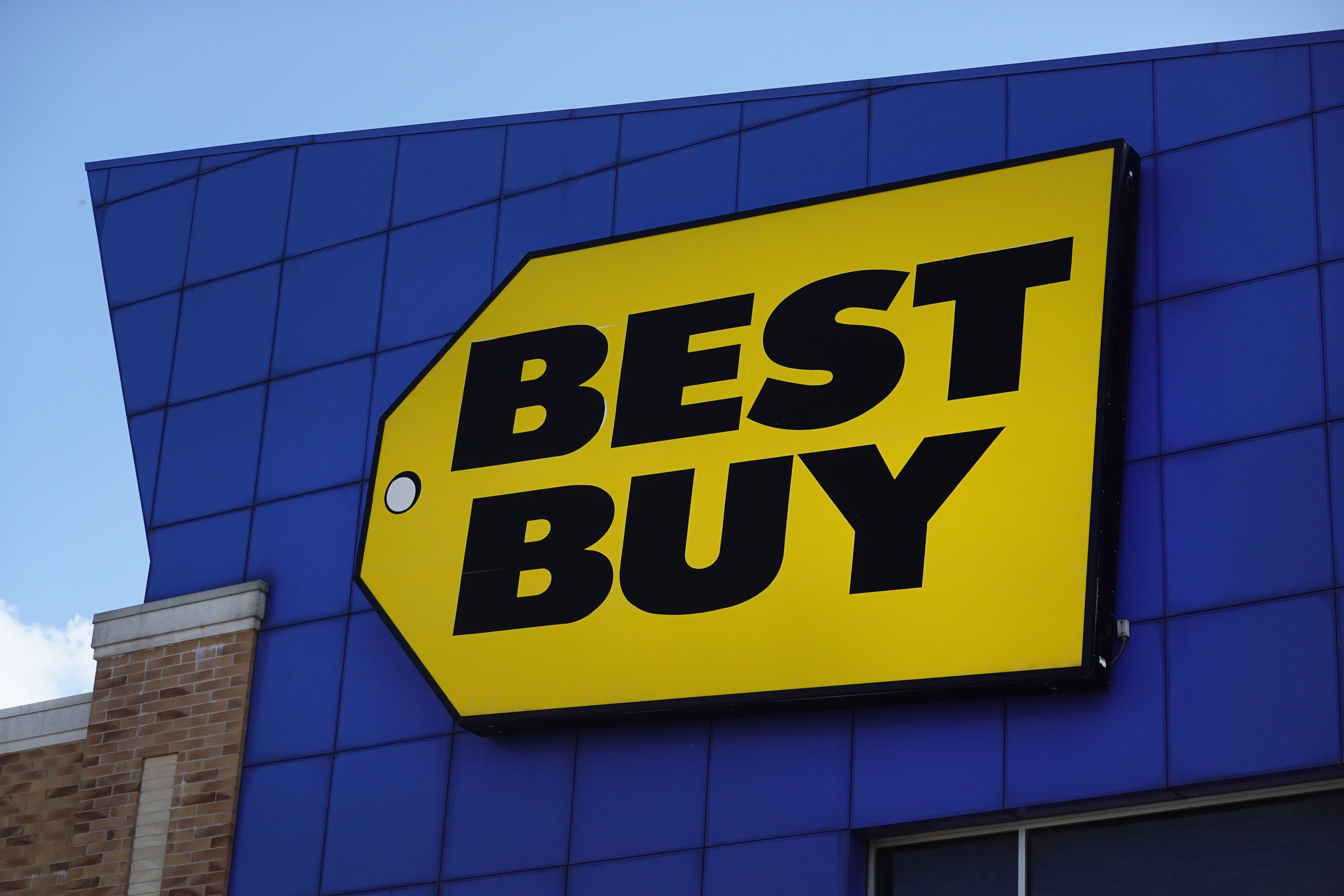 A Best Buy store.