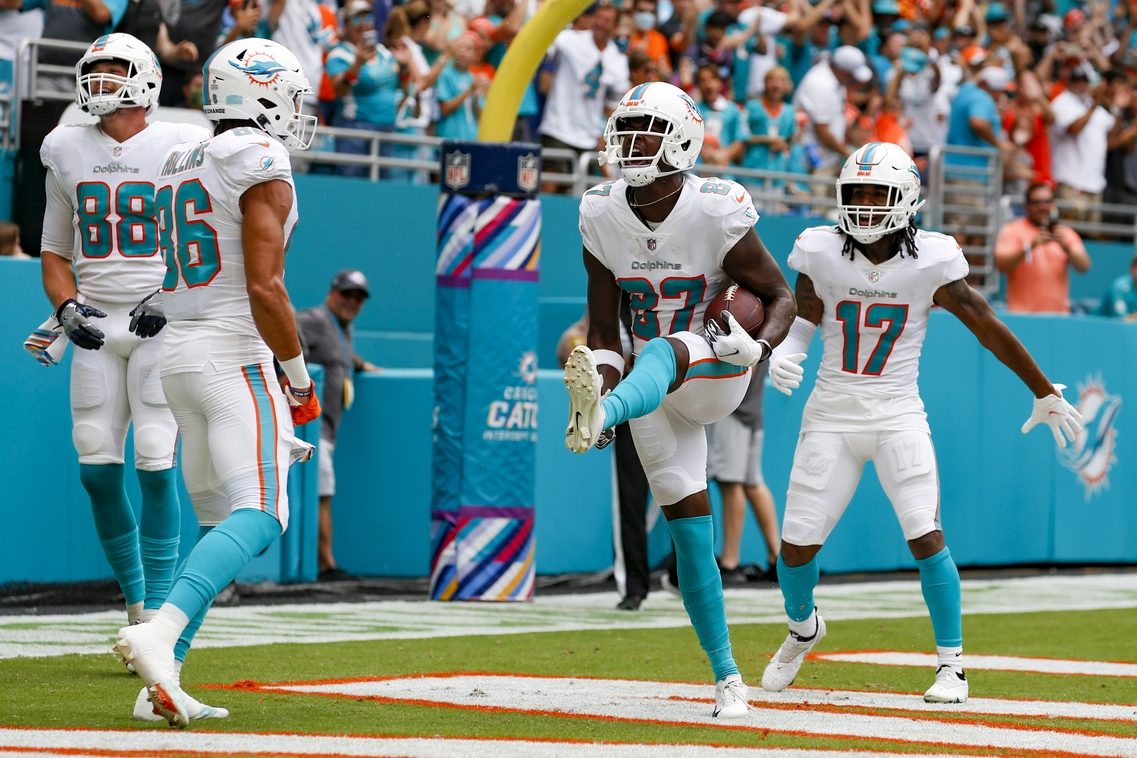 NFL: OCT 24 Falcons at Dolphins
