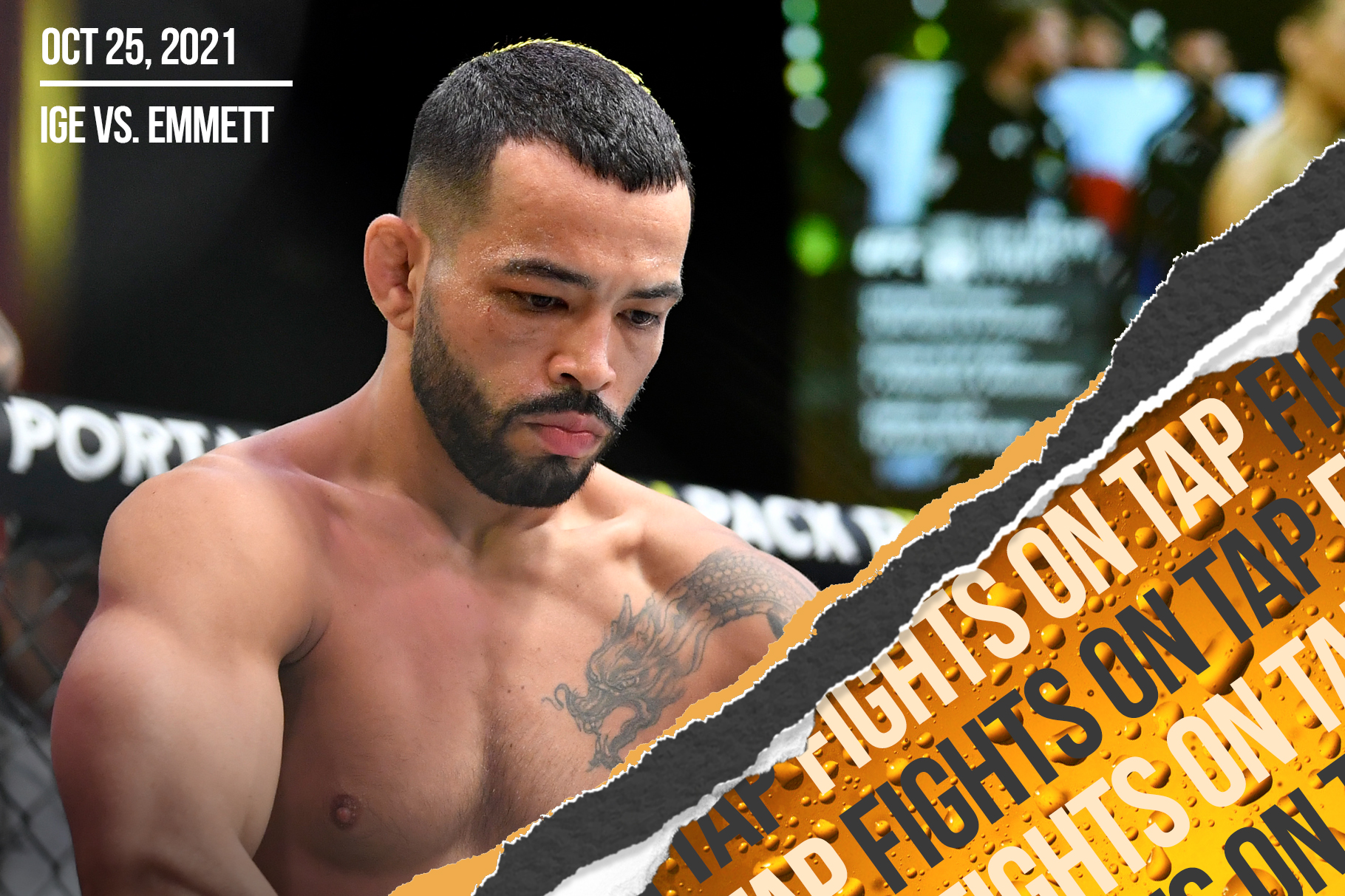 Fights on Tap: Josh Emmett vs. Dan Ige, Joaquin Buckley vs. Abdul Razak Alhassan among 13 UFC fights announced