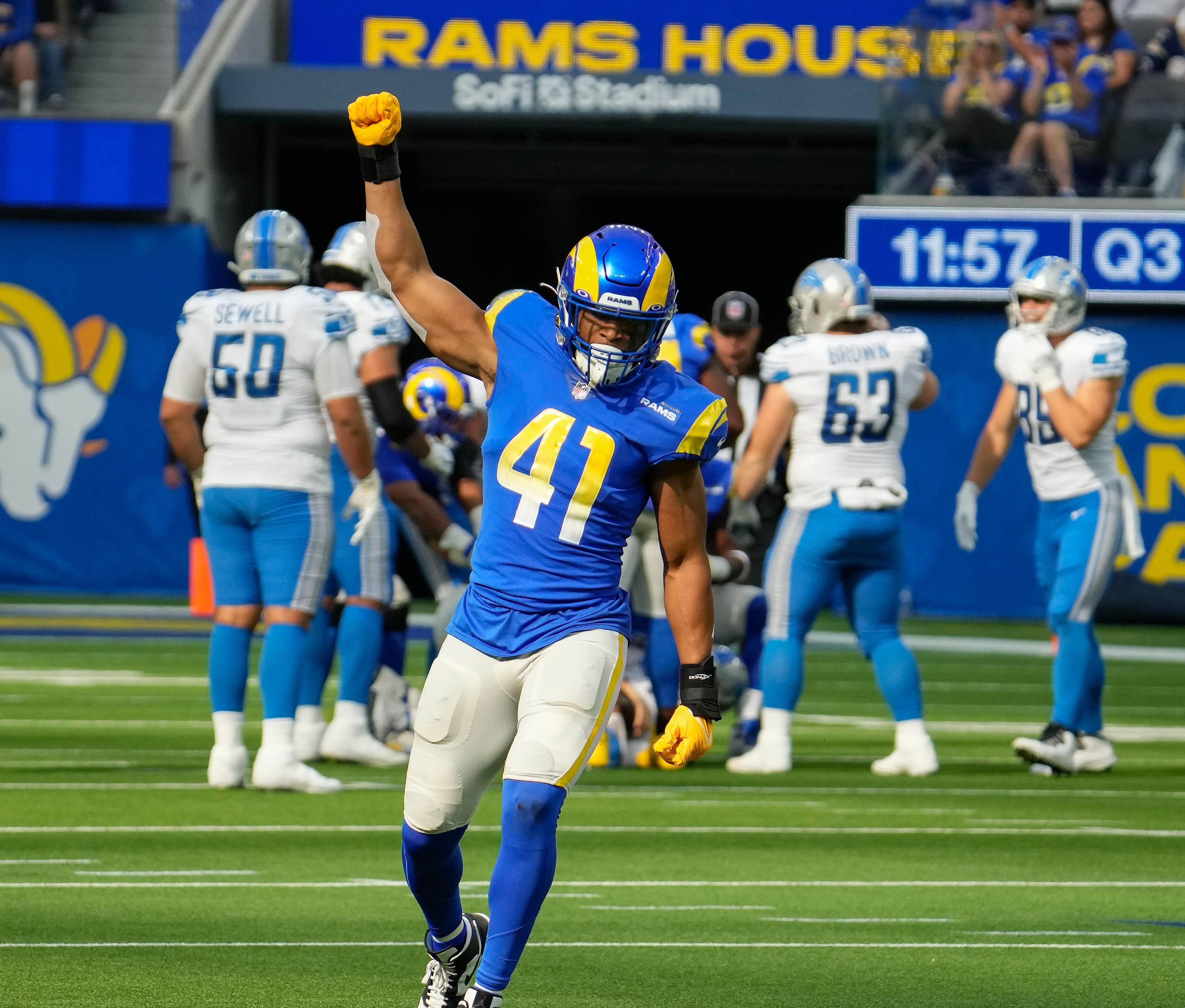 NFL: Detroit Lions at Los Angeles Rams