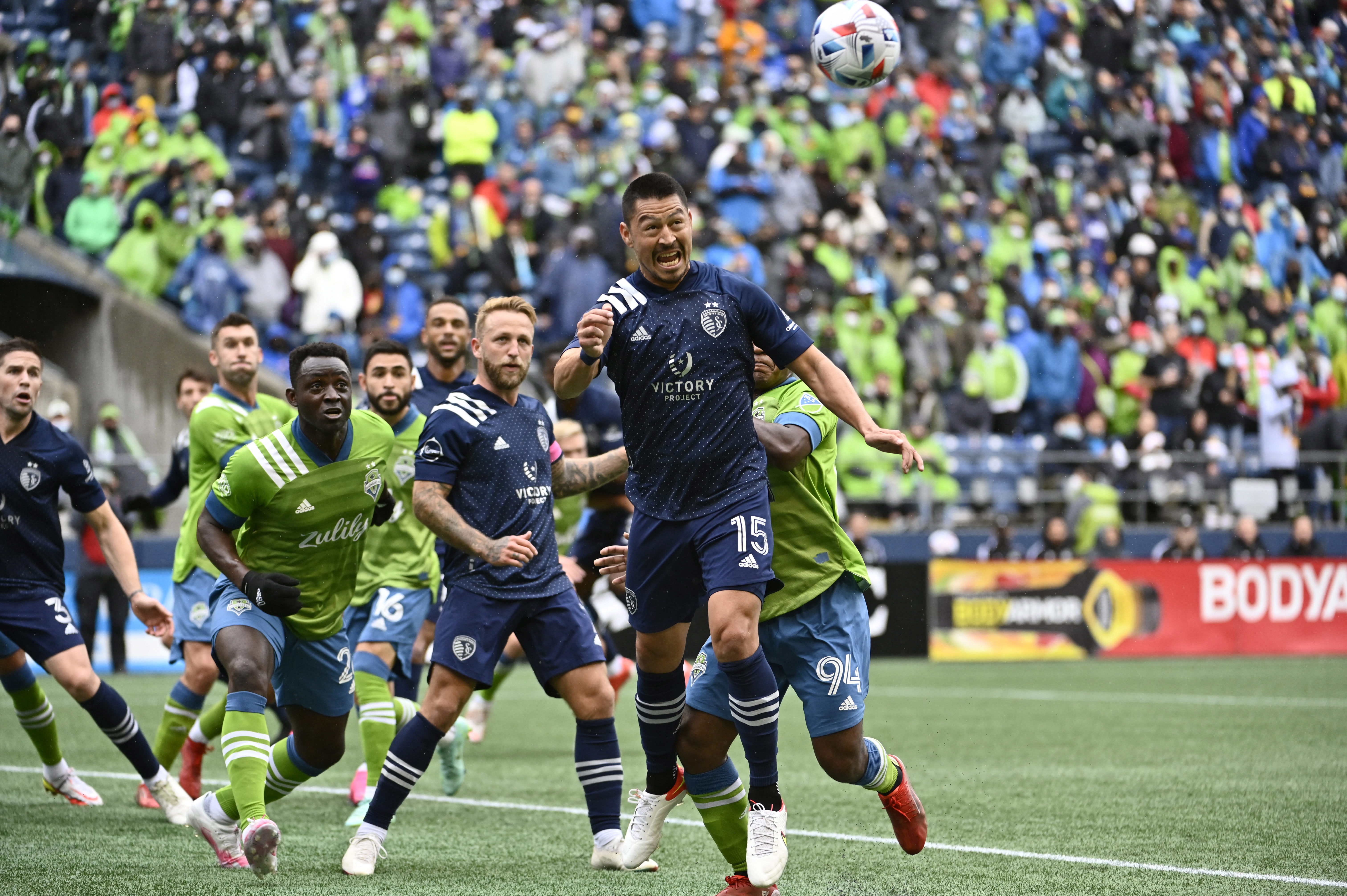 MLS: Sporting Kansas City at Seattle Sounders FC
