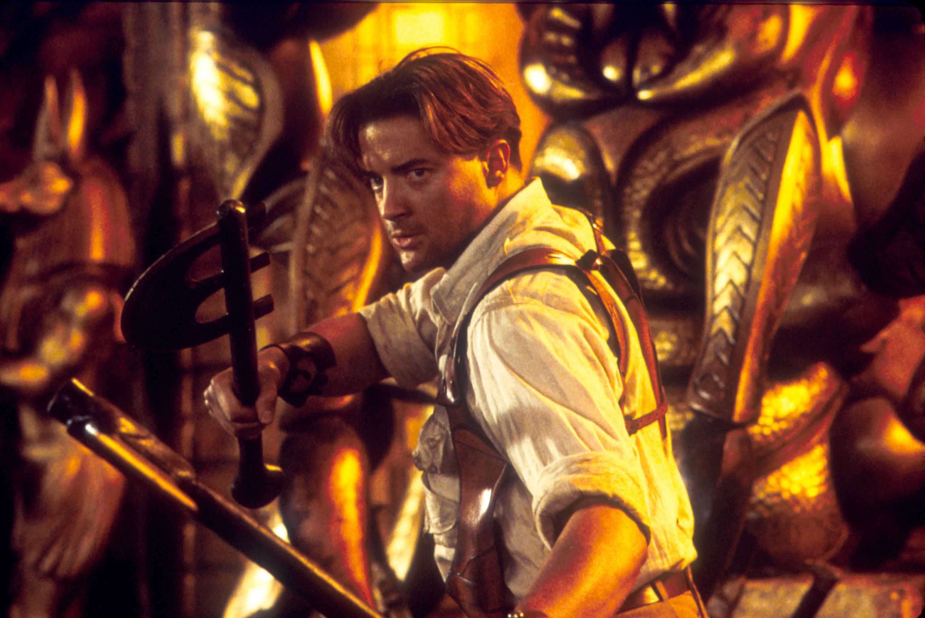No gods, no kings, only Brendan Fraser in The Mummy.