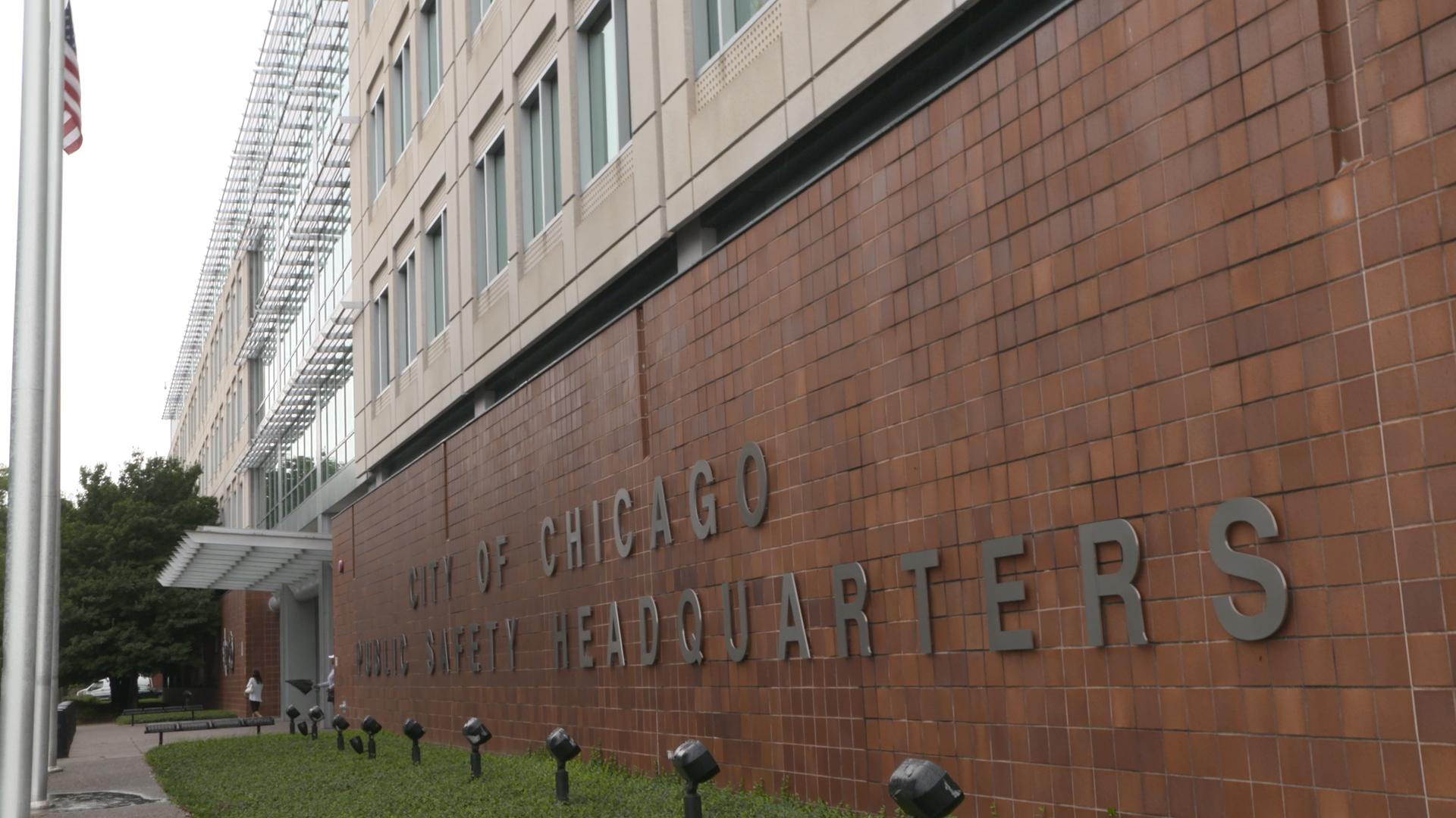 Chicago Police Department headquarters.