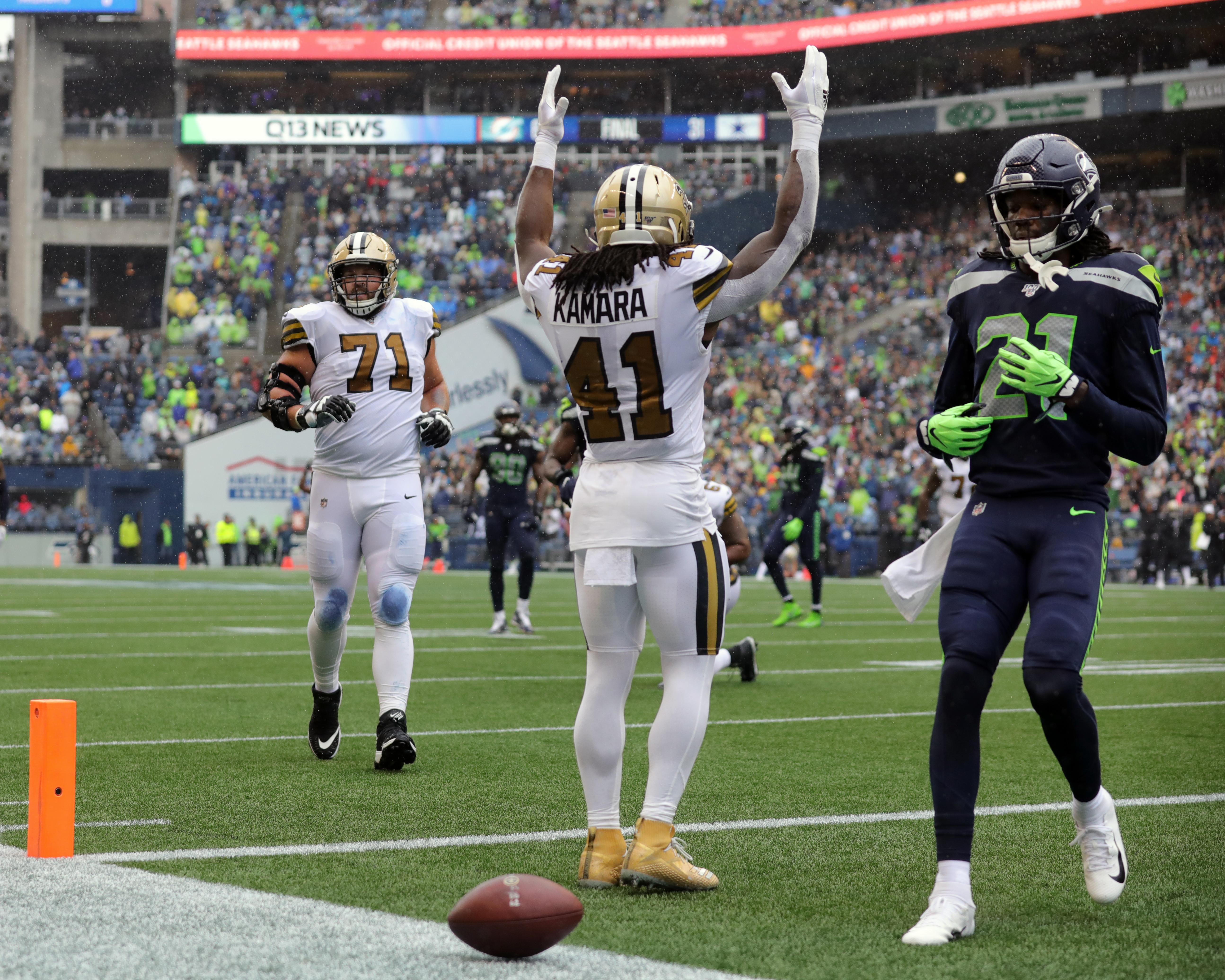 NFL: SEP 22 Saints at Seahawks