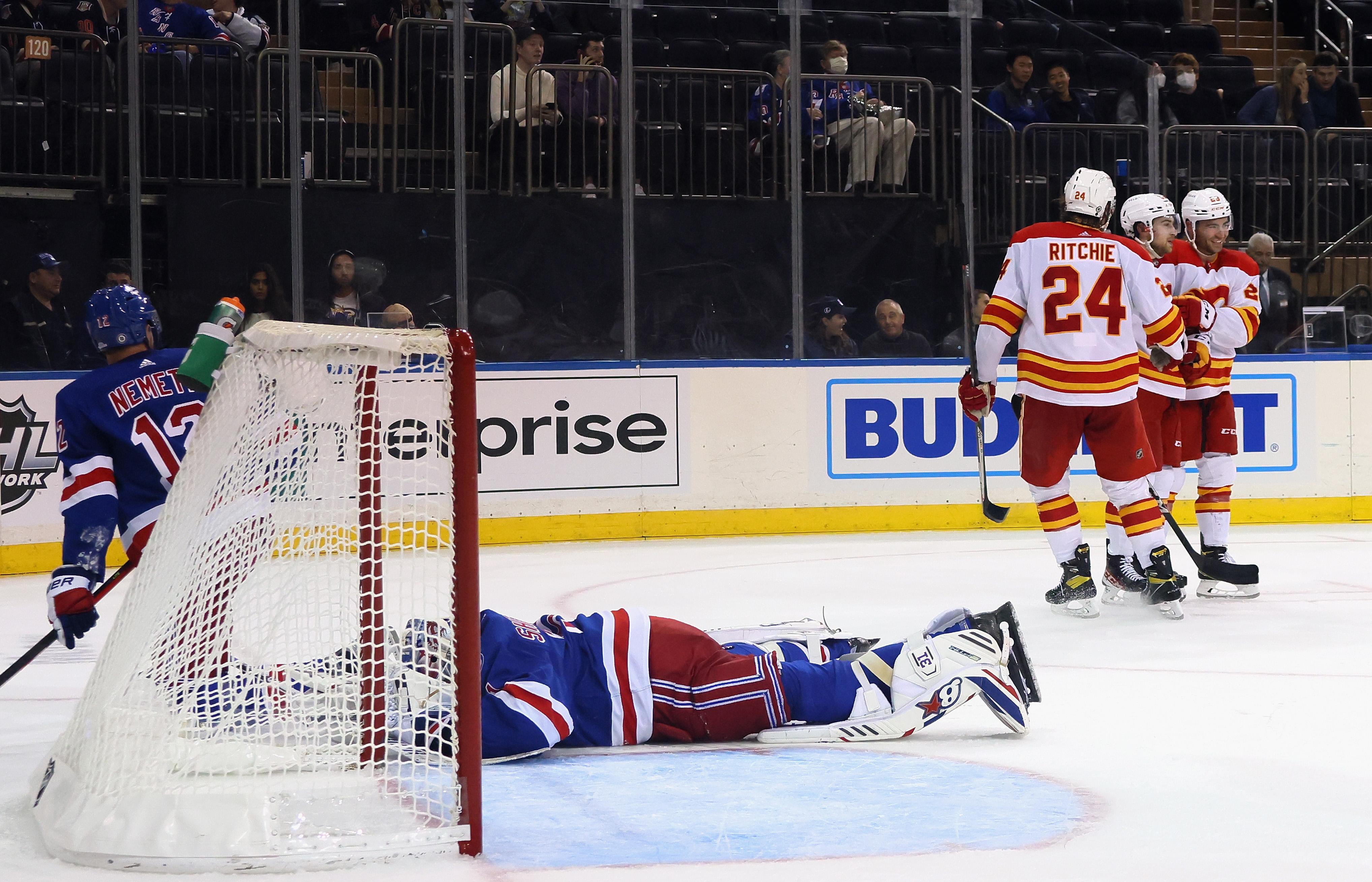 Calgary Flames v New York Rangers