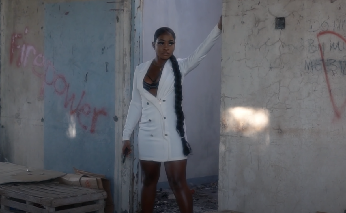 """Model for Popcaan's """"Good Only"""" video"""