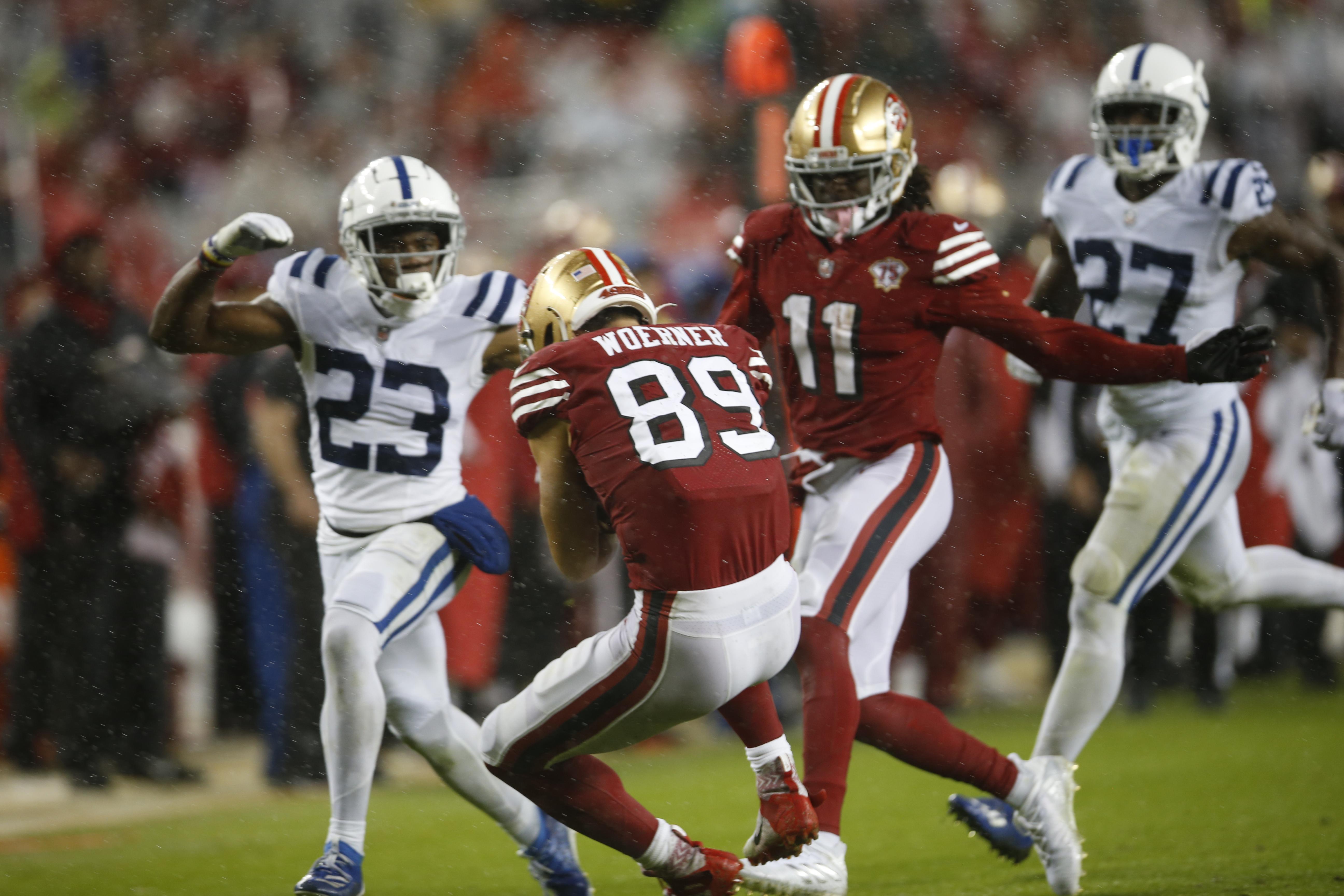 Indianapolis Colts v San Francisco 49ers