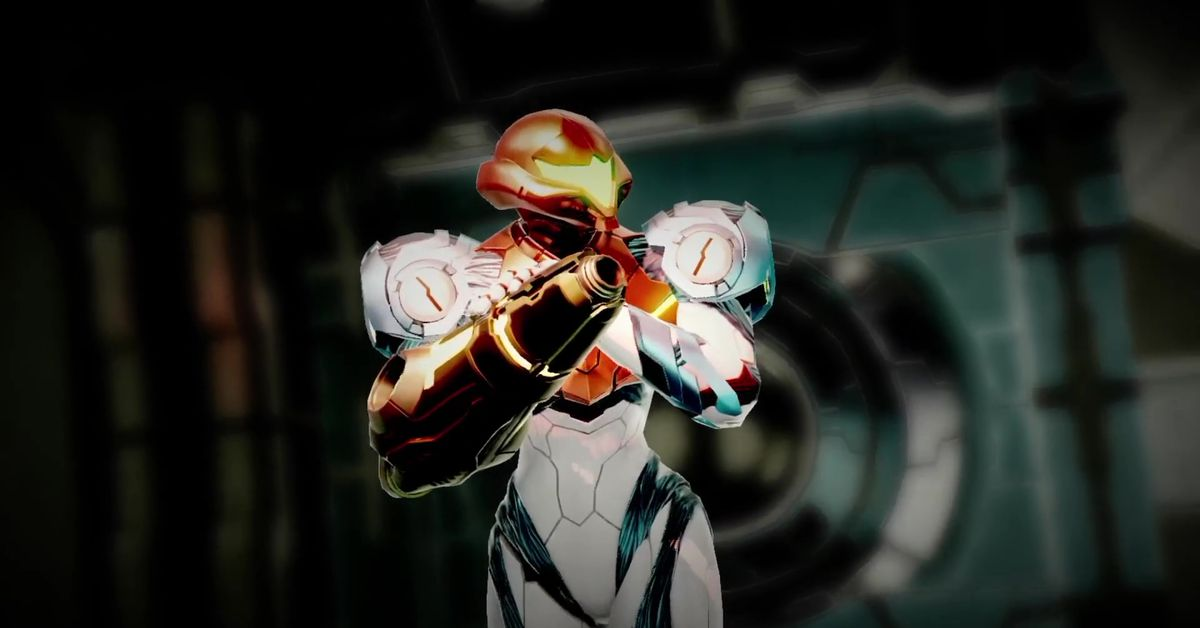 Metroid Dread Speed Booster and Shinespark