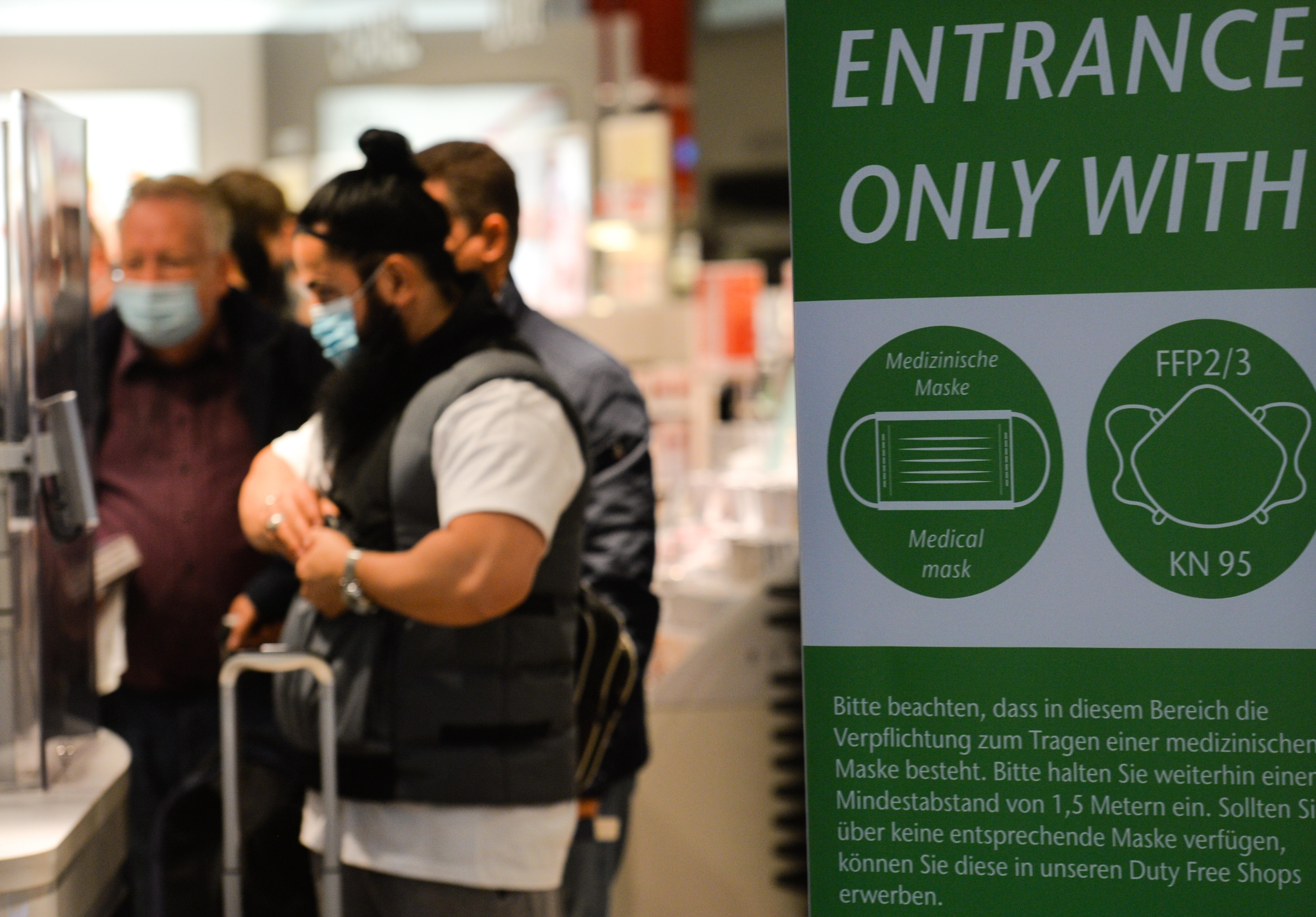 Frankfurt Airport During Covid-19 Pandemic