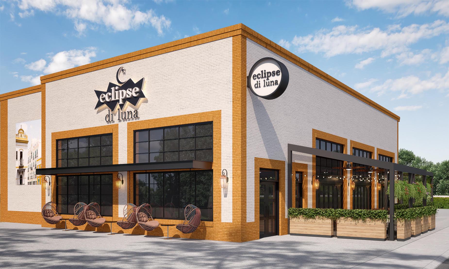 Popular Atlanta restaurant Eclipse di Luna Restaurant and Tapas Bar opens in spring 2022 at Halcyon in Alpharetta.